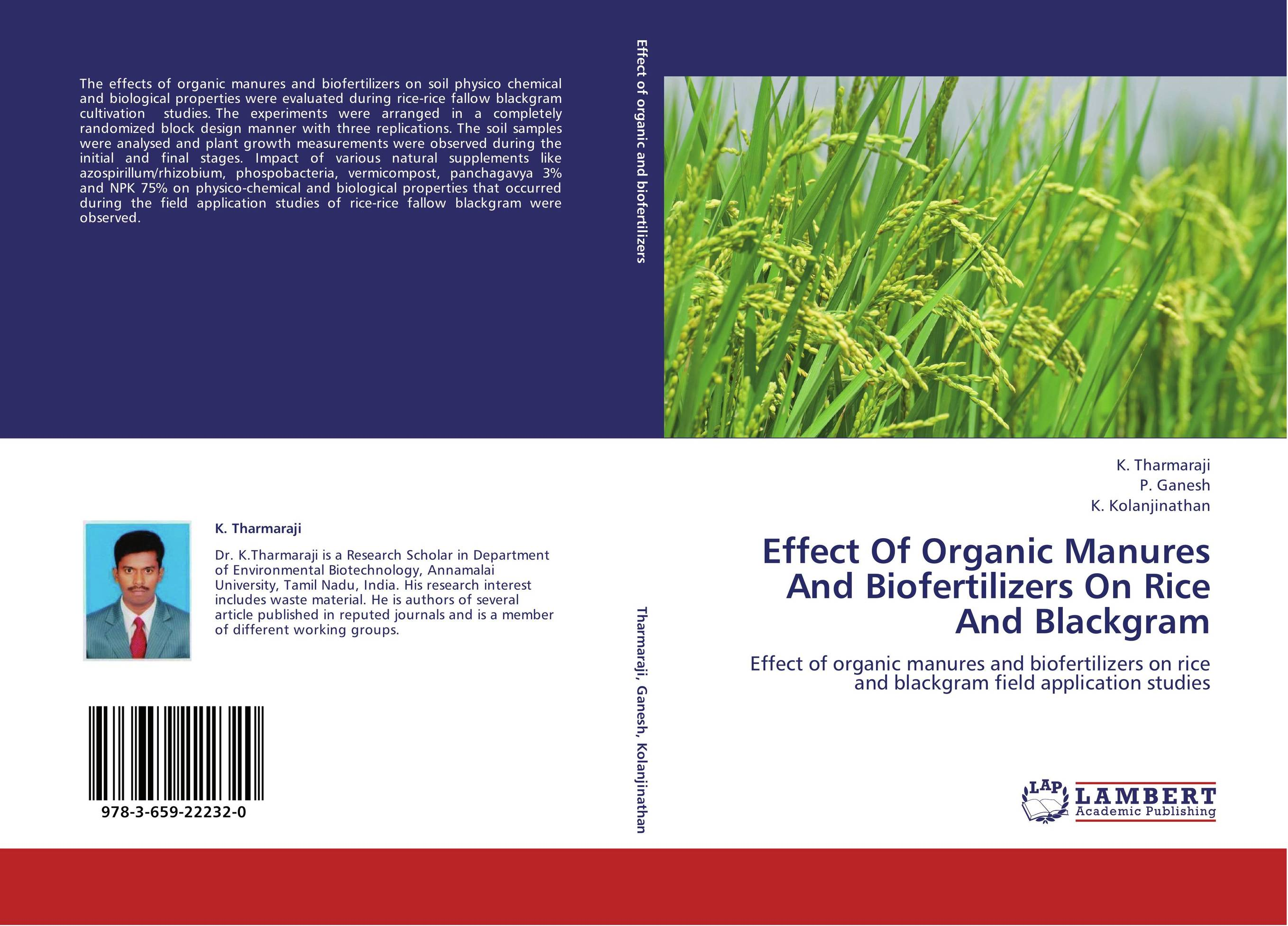 thesis on biofertilizers A review of medicinal plant research at the university of the west indies, jamaica,  were phd thesis) and are referred to at the relevant places in table 6 the.