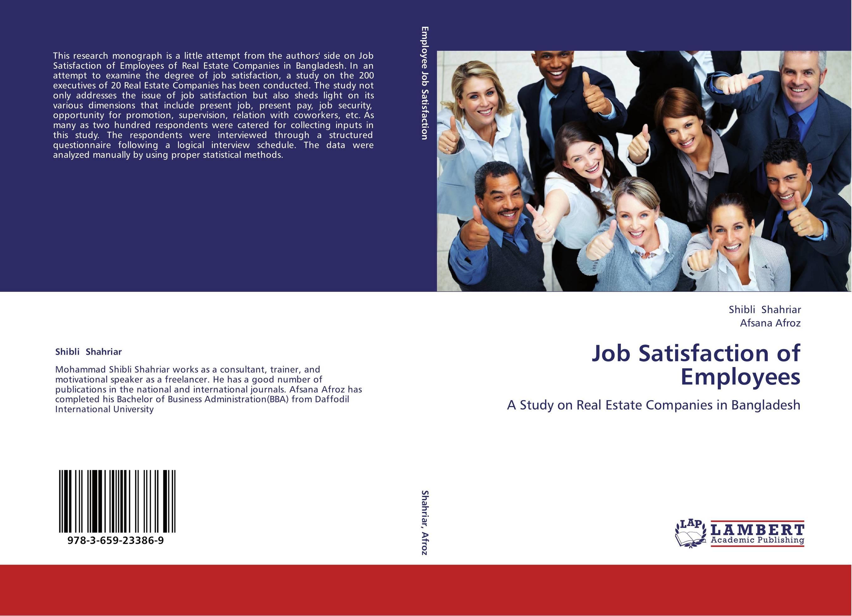 limitation of employee satisfaction