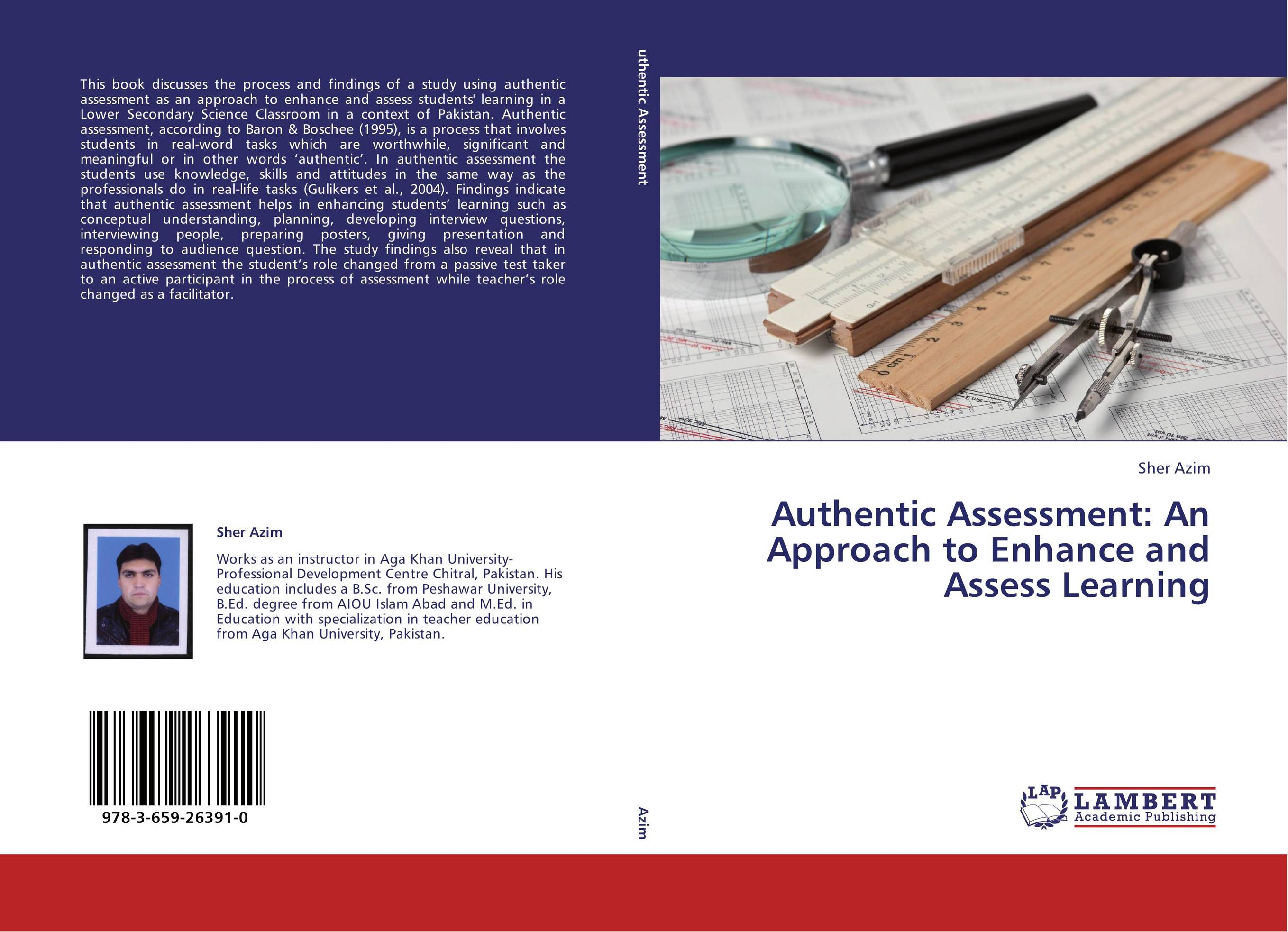 9783659263910 Authentic Assessment An Approach to Enhance and Asess Learning