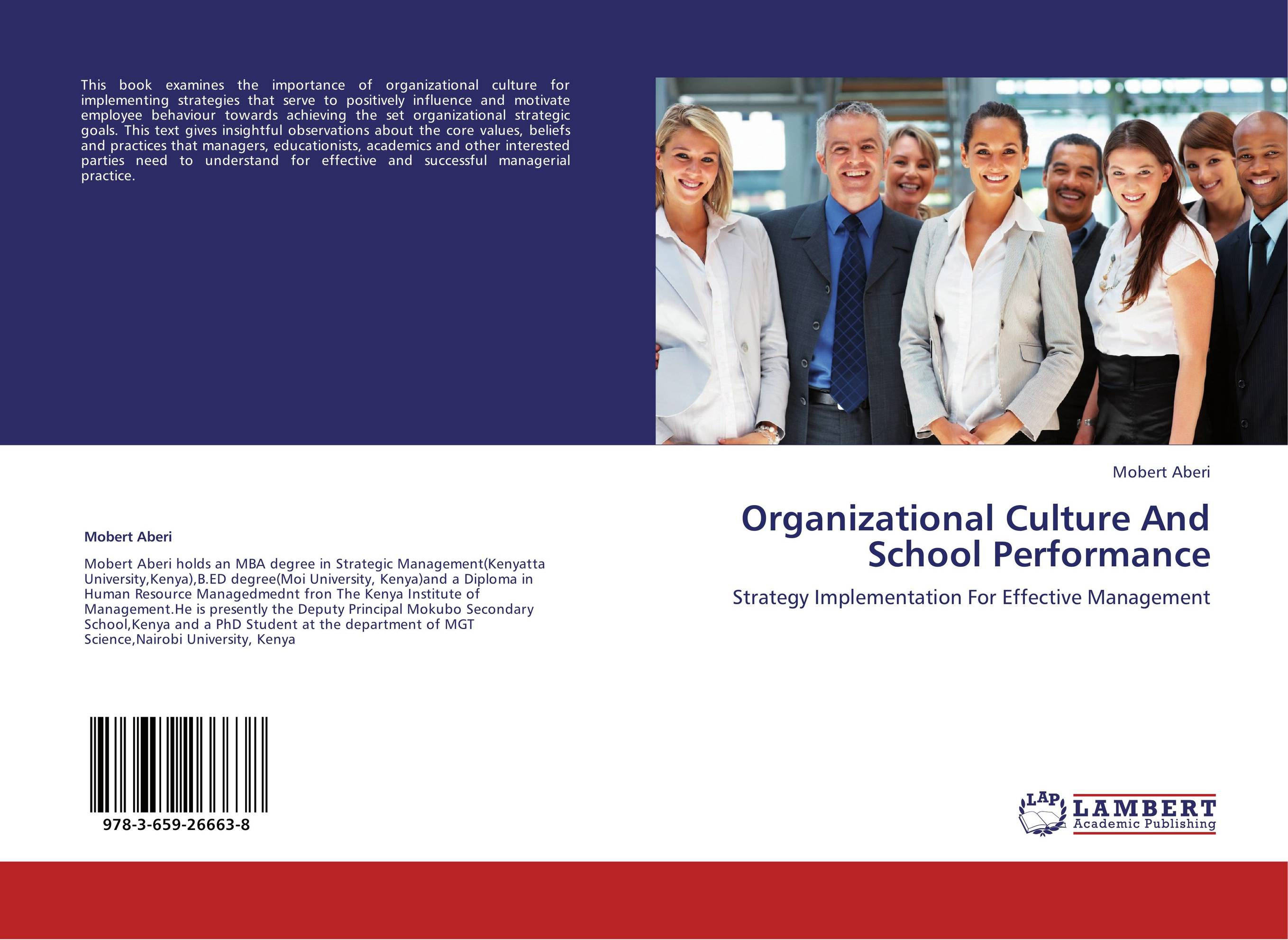organizational culture and performance Organizational culture can be viewed as an important concept in organizational psychology and social psychology it is important to define organizational culture there are many possible definitions of organizational culture below is one organizational culture definition.