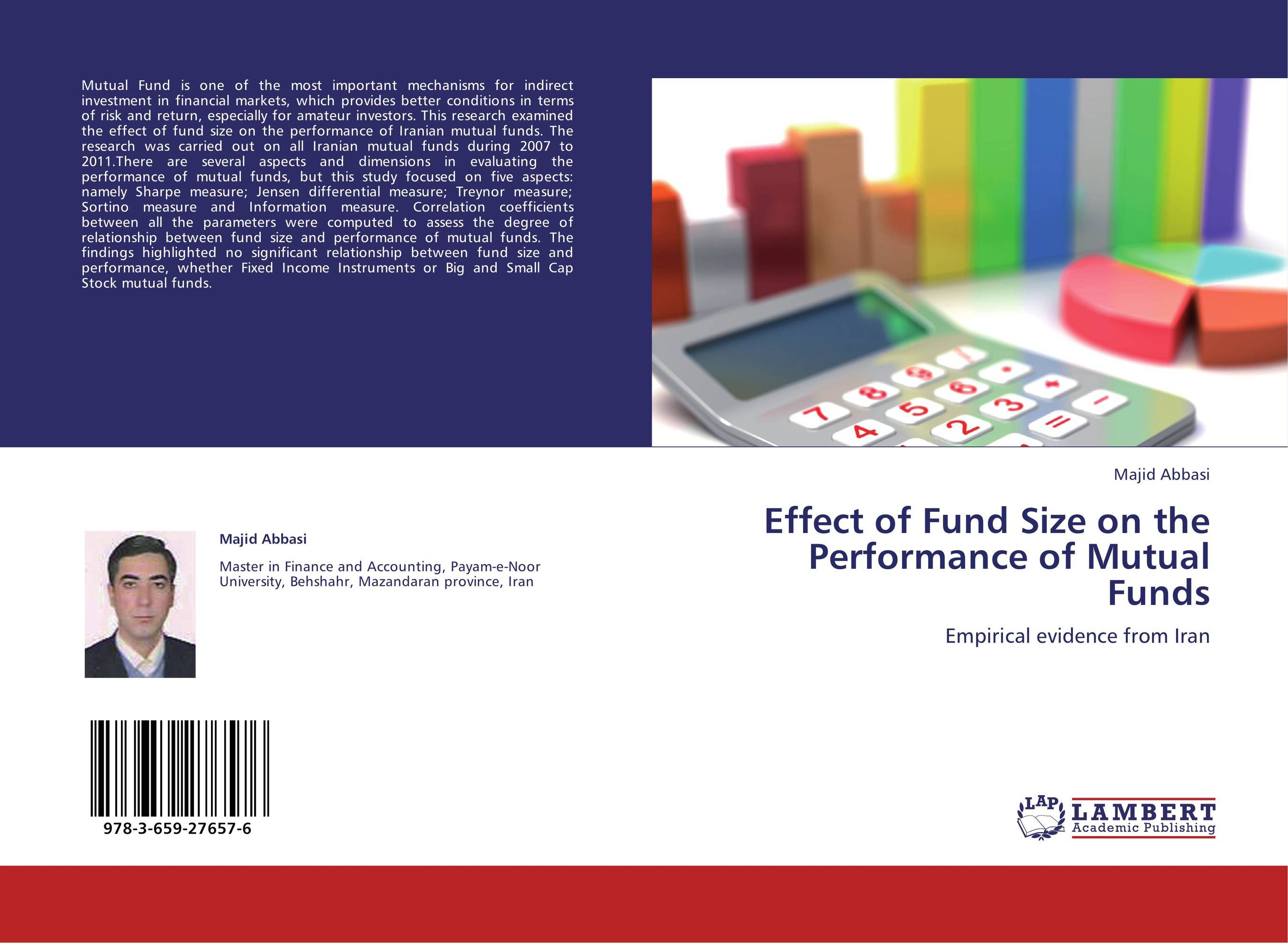 thesis on performance evaluation of mutual funds in india The performance evaluation and persistence of a type mutual funds in turkey a thesis submitted to the graduate school of social sciences of middle east technical.