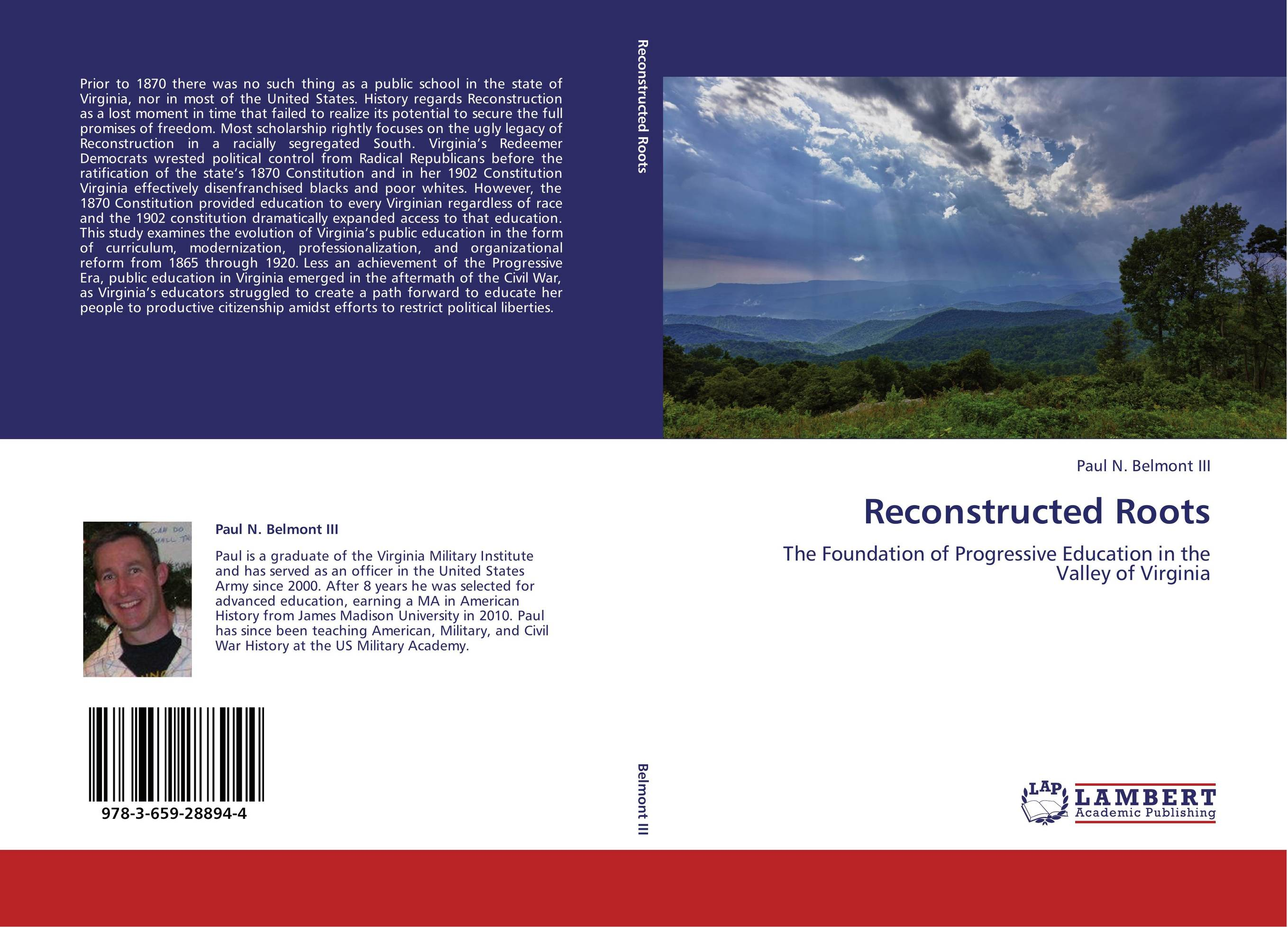 9783659288944 Reconstructed Roots Paul N. Belmont III