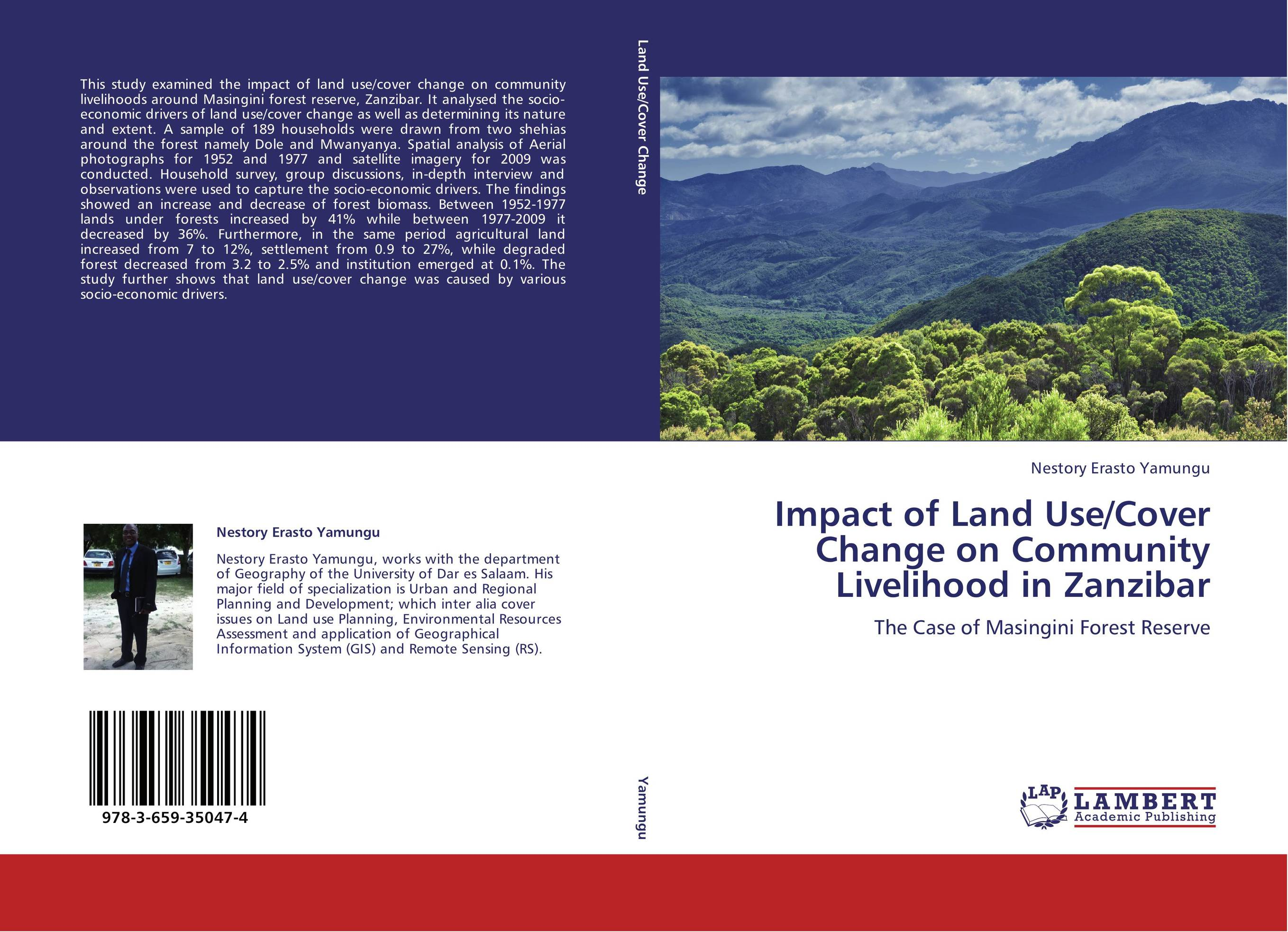 a study on land use and land cover Economic condition data and identification of land use/land cover geomorphology class even in a complex terrain like the study area the result in the form of integrated map could be properly.