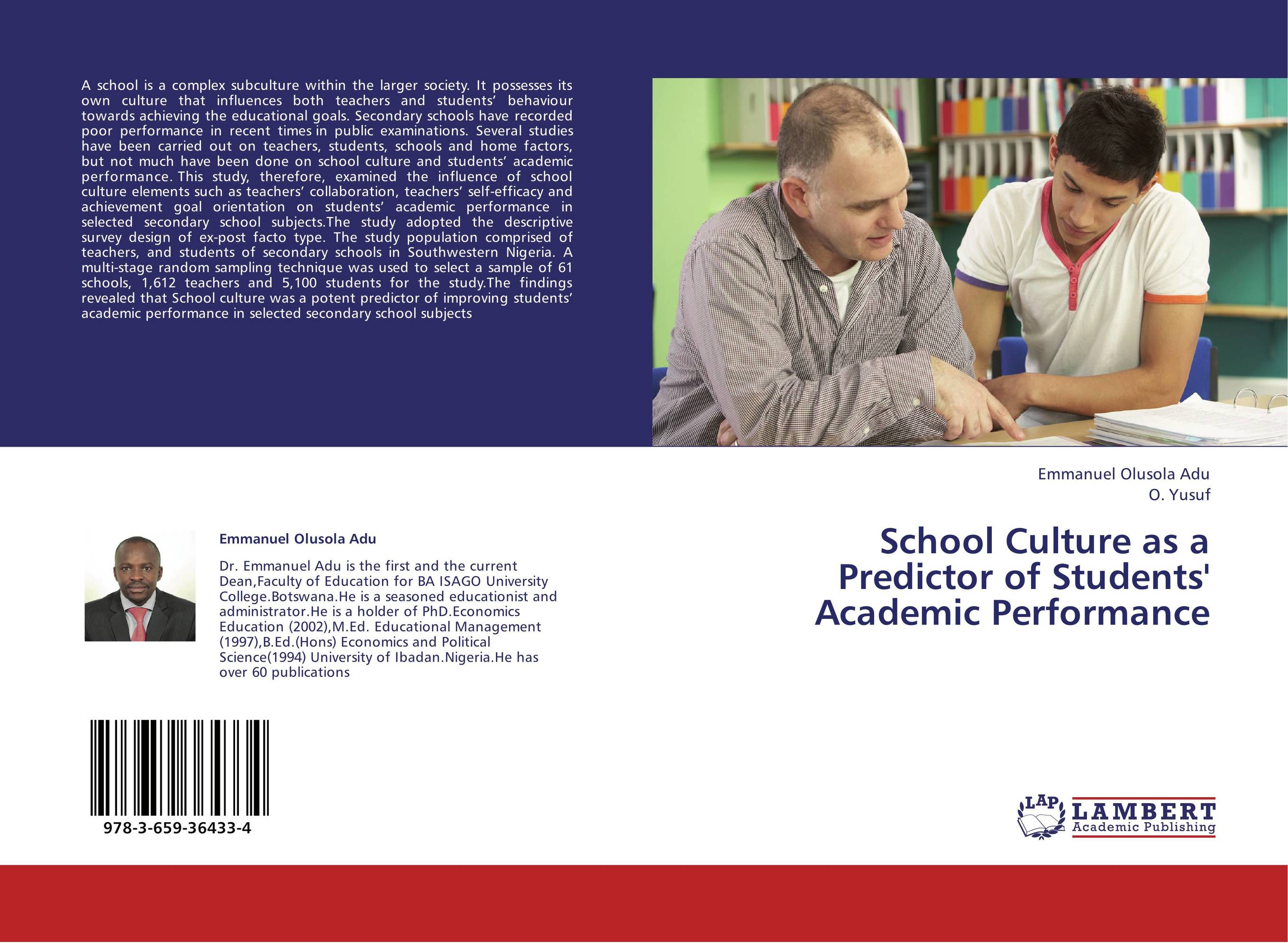 enhancing students academic performance through the A classroom of proficiency: 6 factors of academic performance student effort as in, supporting students emotionally, metacognitively, and intellectually to give themselves to the process of mastering academic teachthought seeks to innovate education through the growth of outstanding teachers.