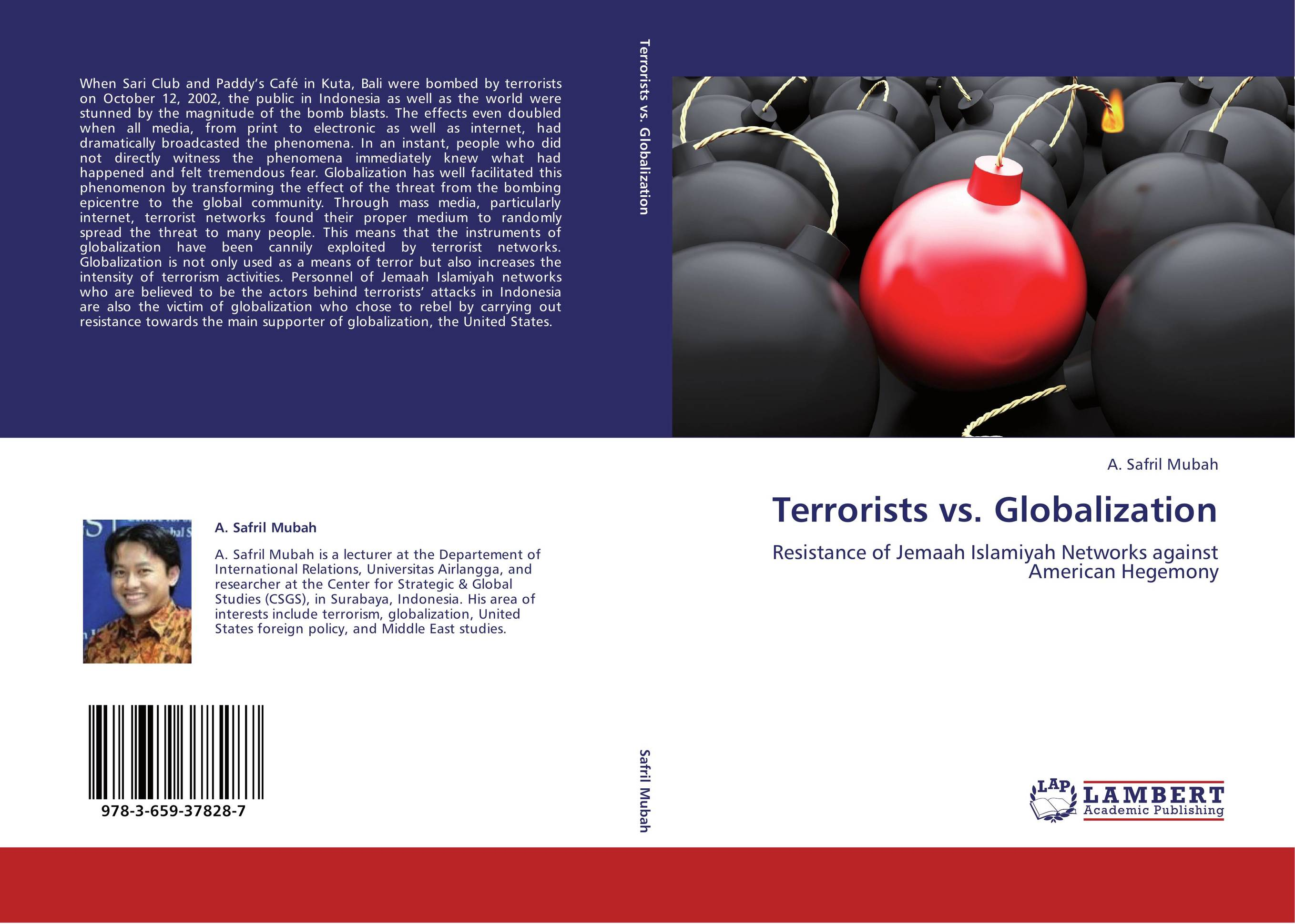 9783659378287 Terrorists vs. Globalization A. Safril Mubah