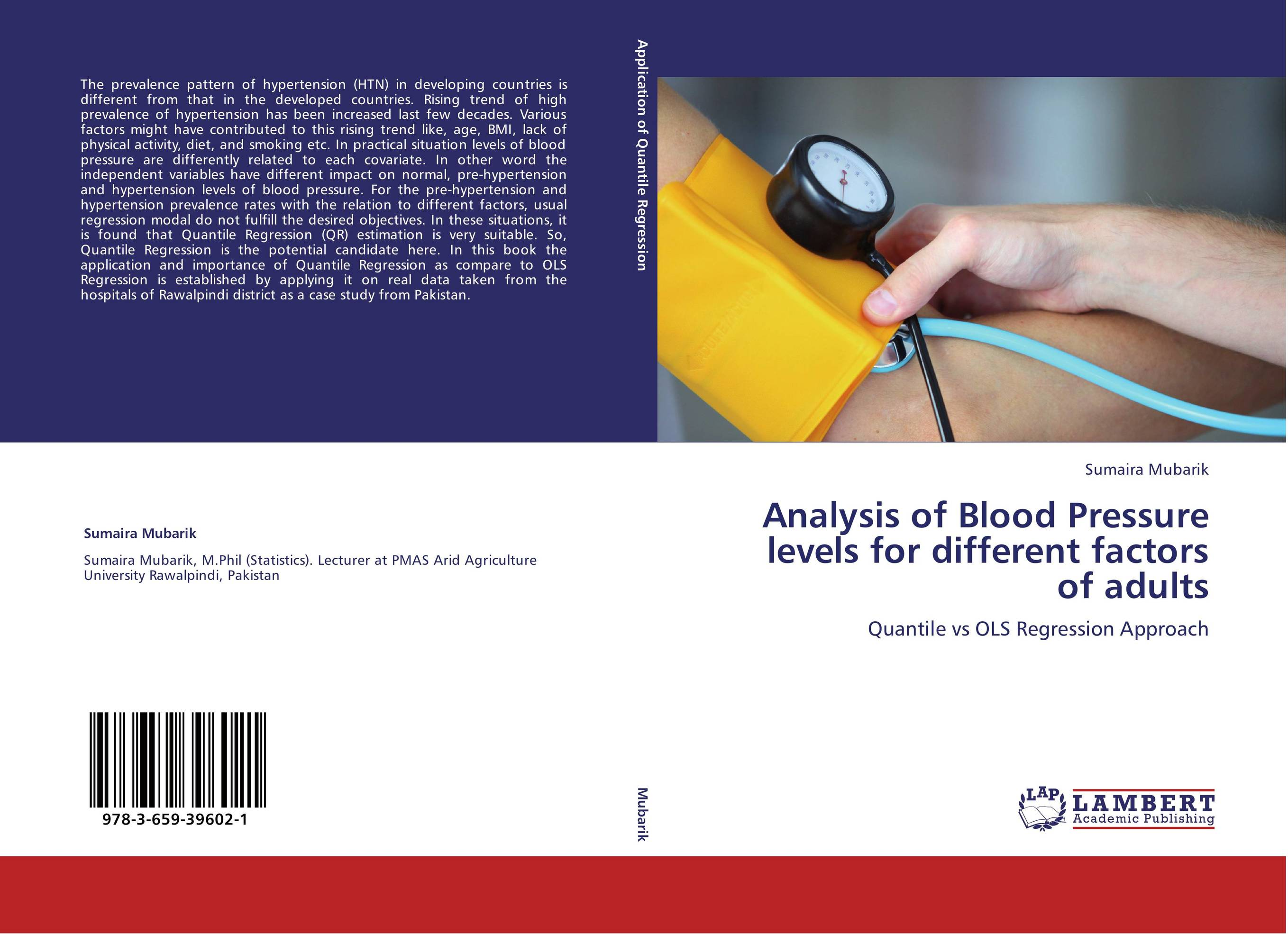 analysis of blood pressure Last updated on october 2nd, 2018 at 03:32 pm blood pressure is an important and vital health indicator high blood pressure (arterial hypertension) may cause changes to blood vessels, resulting in atherosclerosis, also known as hardening of the arteries.