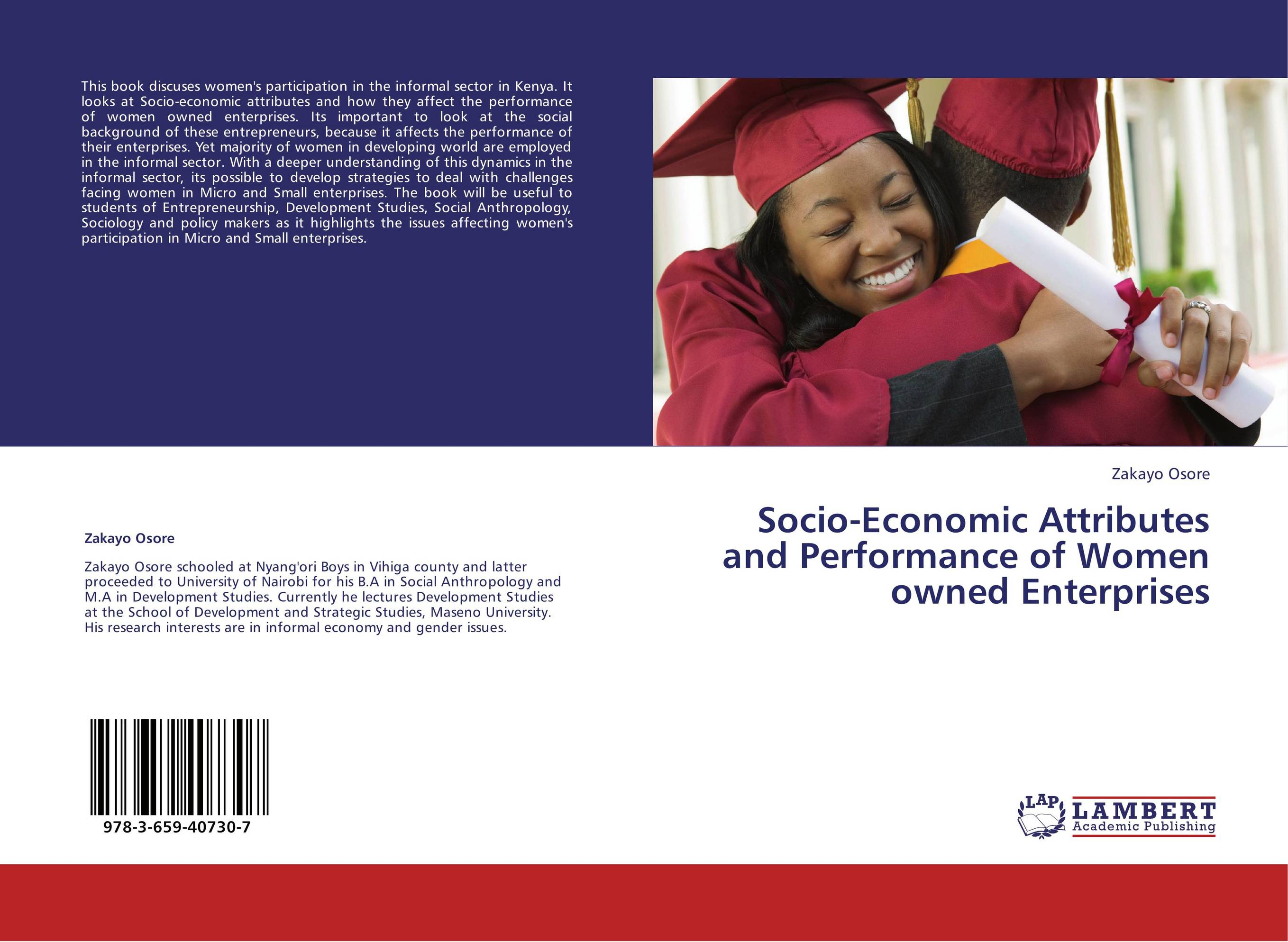 a socio economic study of informal sector Socio-economic study of a fermented drink dèguè made with milk and cereals in benin many elements show that the informal food sector.