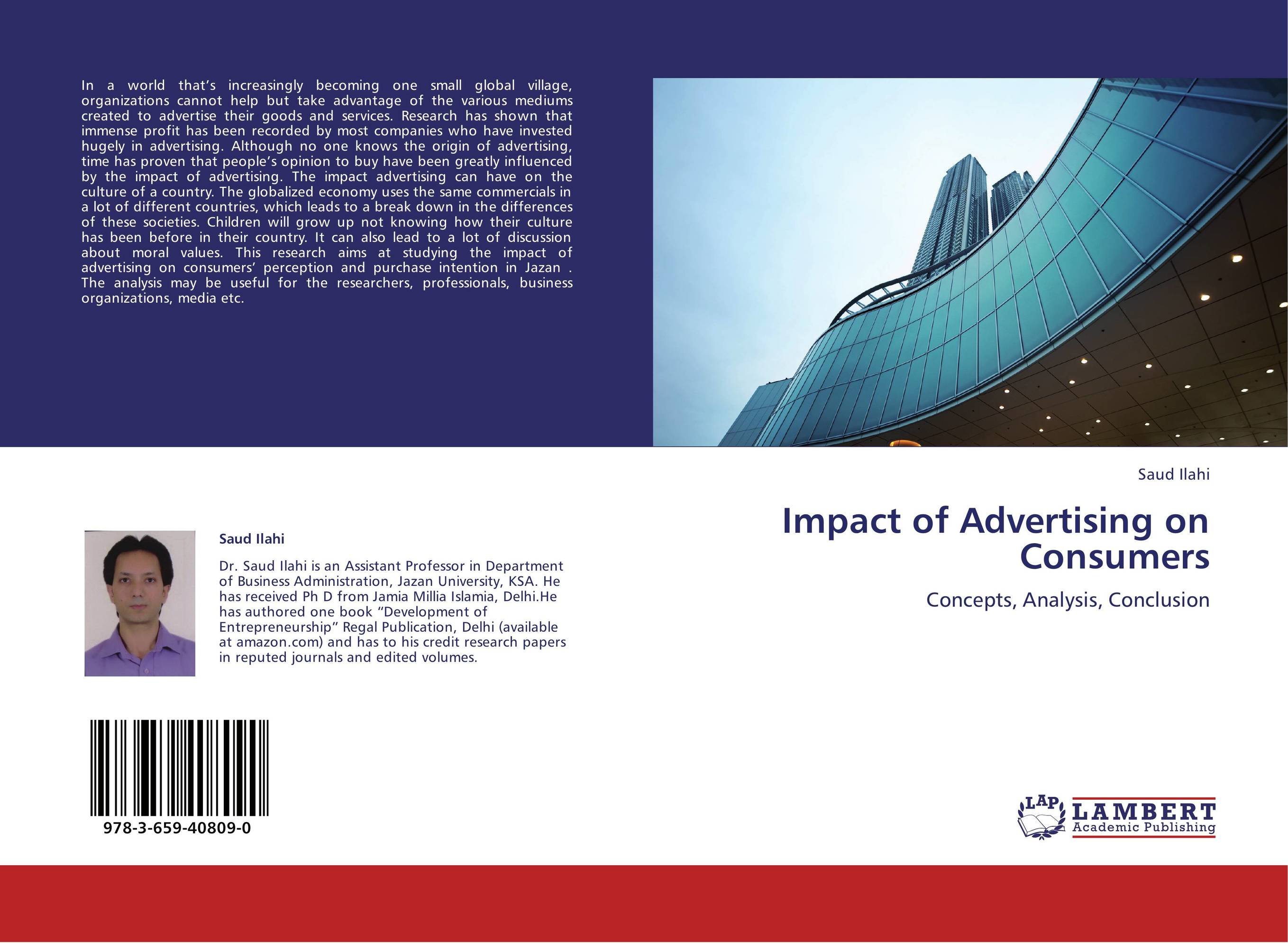 """""""the impact of advertisement of consumer's Consumer's purchase intention impact of online advertising positive feelings toward an online advertisement enhance the advertisement's."""