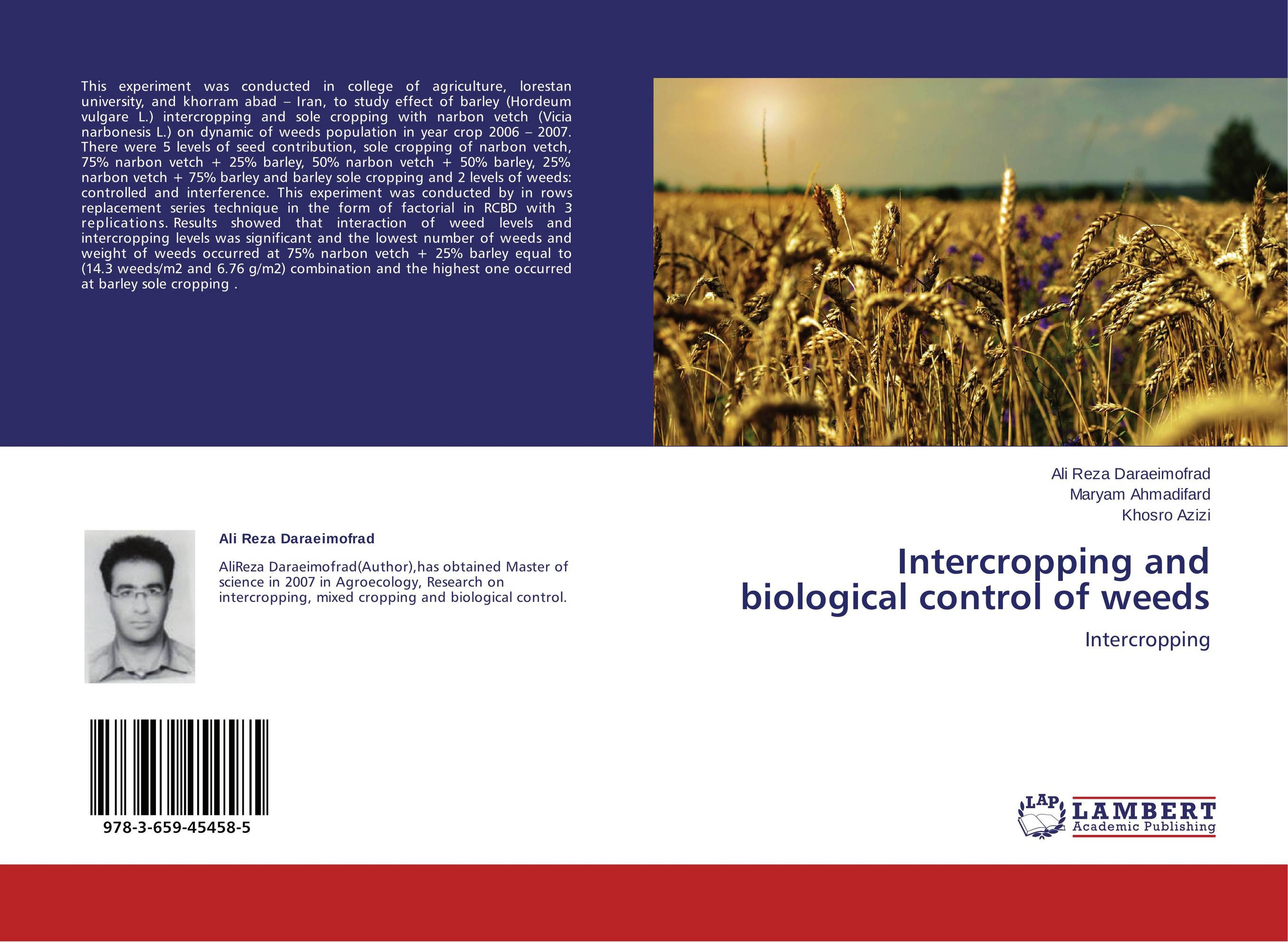 thesis on intercropping A thesis submitted to the school of animal and range sciences, college of agriculture  the role of faba bean intercropping in improving feed resources.