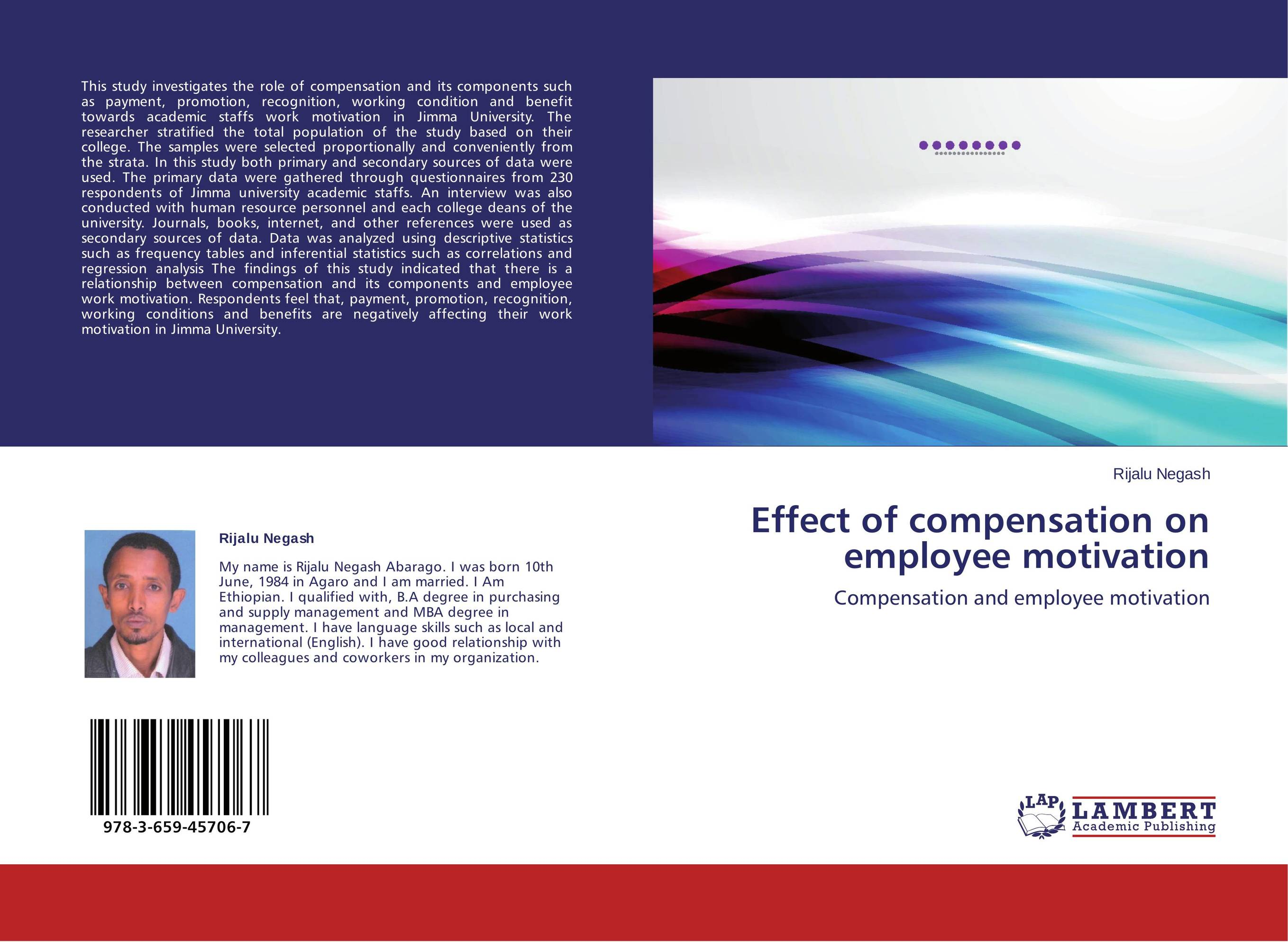 compensation employee motivation research paper The logic that a satisfied employee is a happy employee and a happy employee is a sucesful employee the importance of job satisfaction specially emerges to surface if had in mind the many negative consequences of job disstisfaction such a lack of loyalty,increased abstenteism, increase number of.