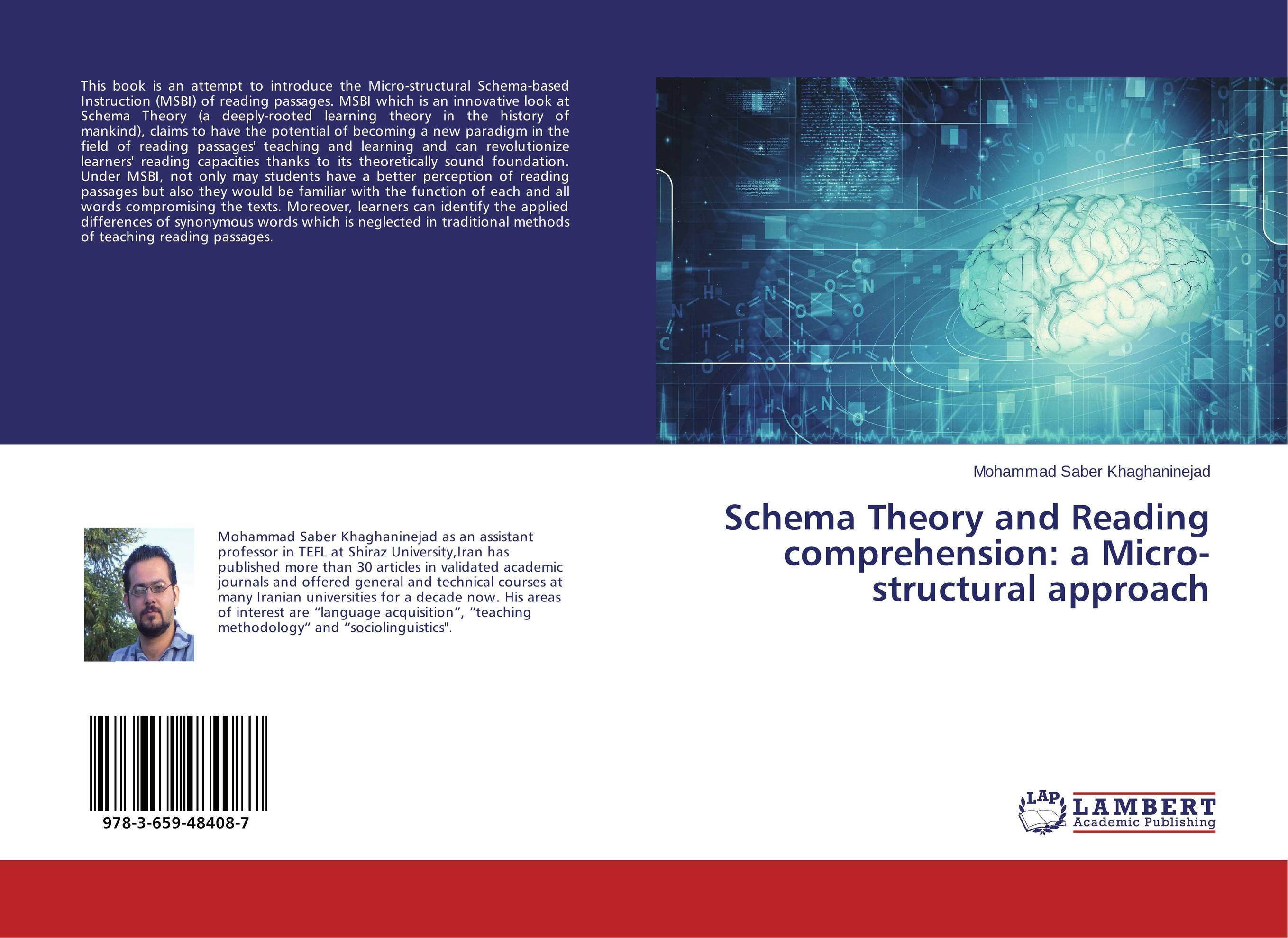 """schema theory usefulness for language teaching Schema theory states that """"as active processors of  schema theory was demonstrated in its usefulness for understanding how memory is  eg language."""