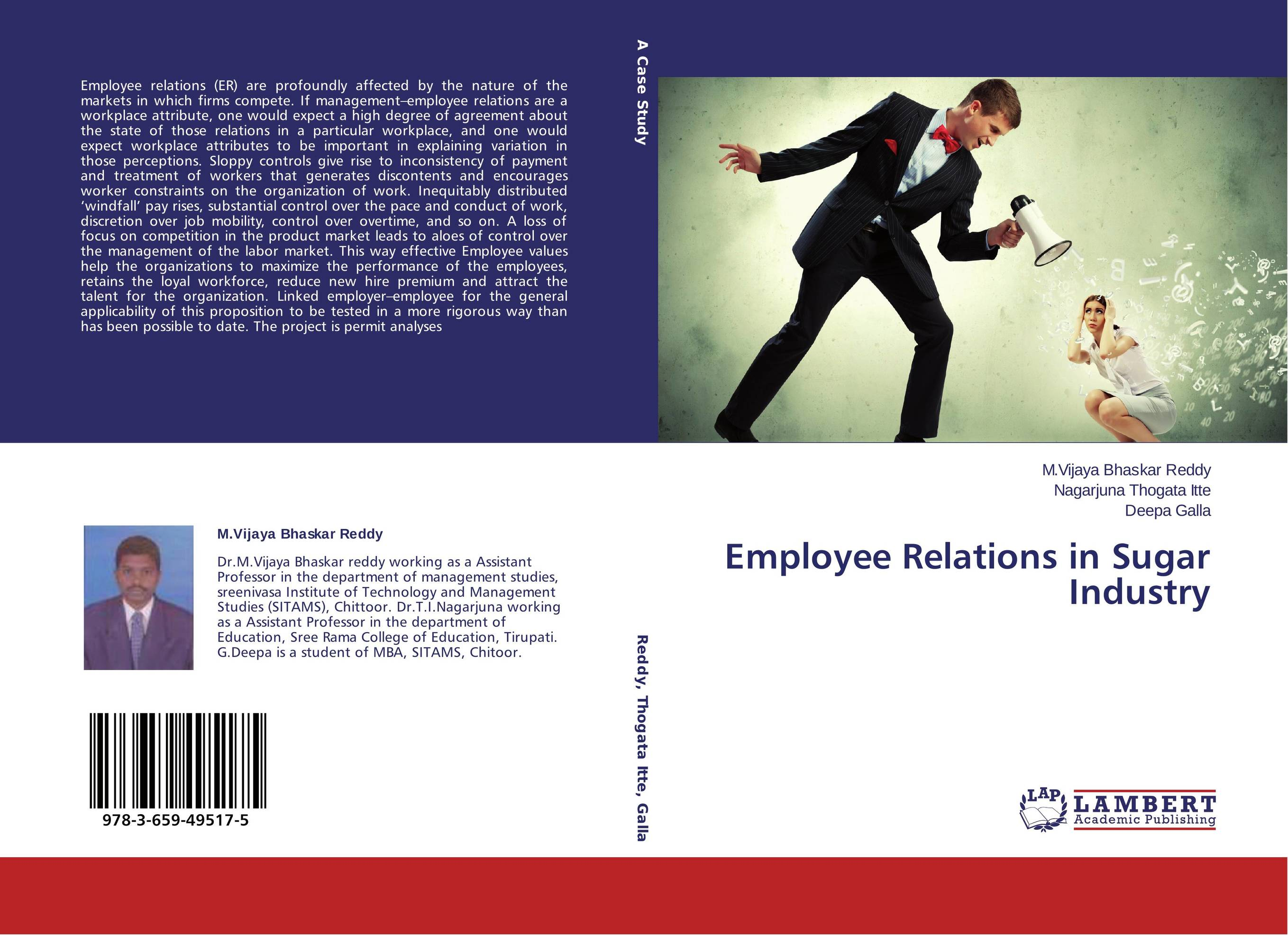employer employee relations paper Employer-employee relations the relationship between an employer and an employee is one that makes a major impact on any organization employers must take care of, and respect, their employees in order to have employees that take care of, and respect, their company.