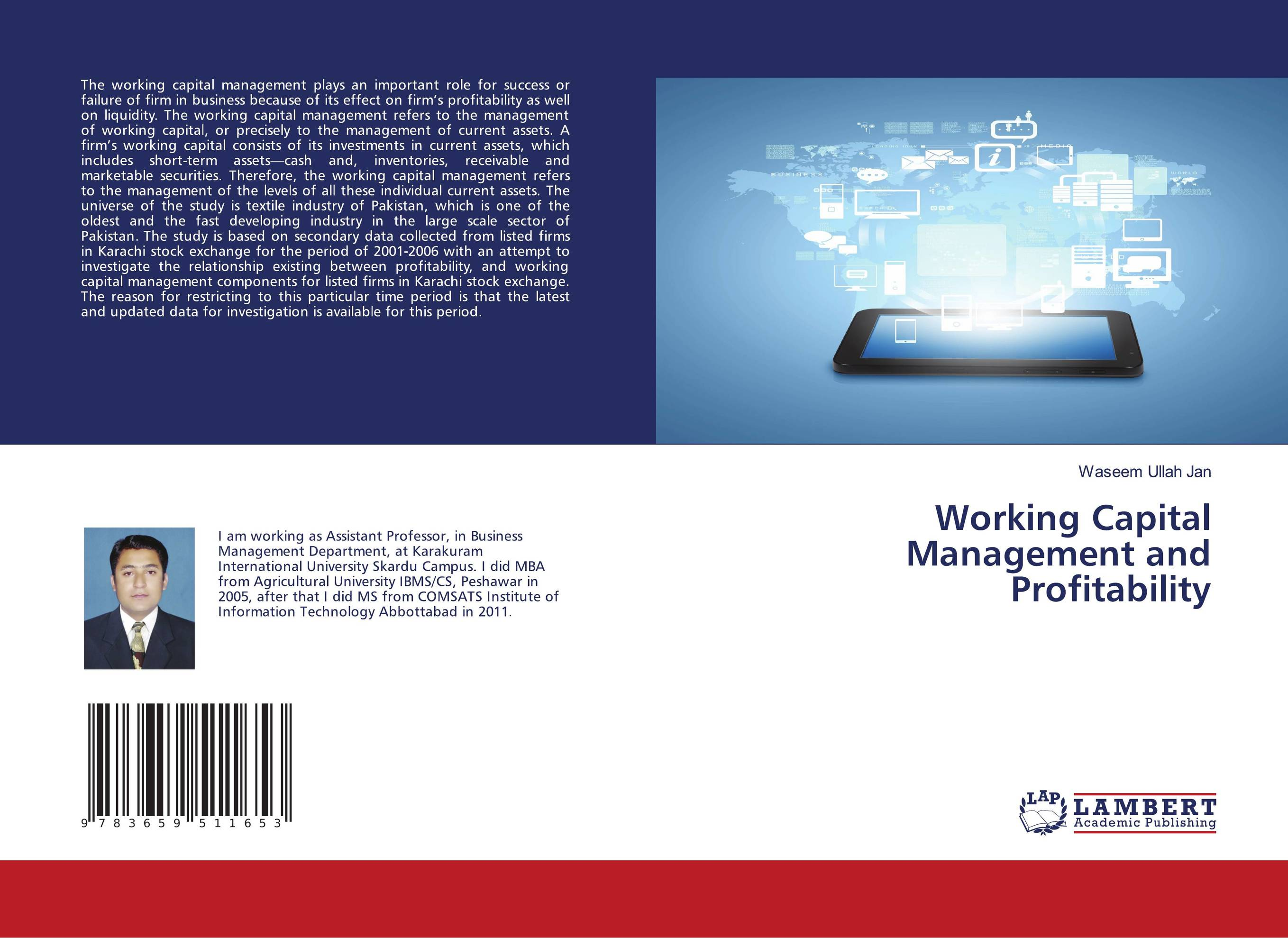 case study on working capital management in service sector The impact of working capital management on firms performance a case of manufacturing sector of effective working capital management and manufacturing sector.