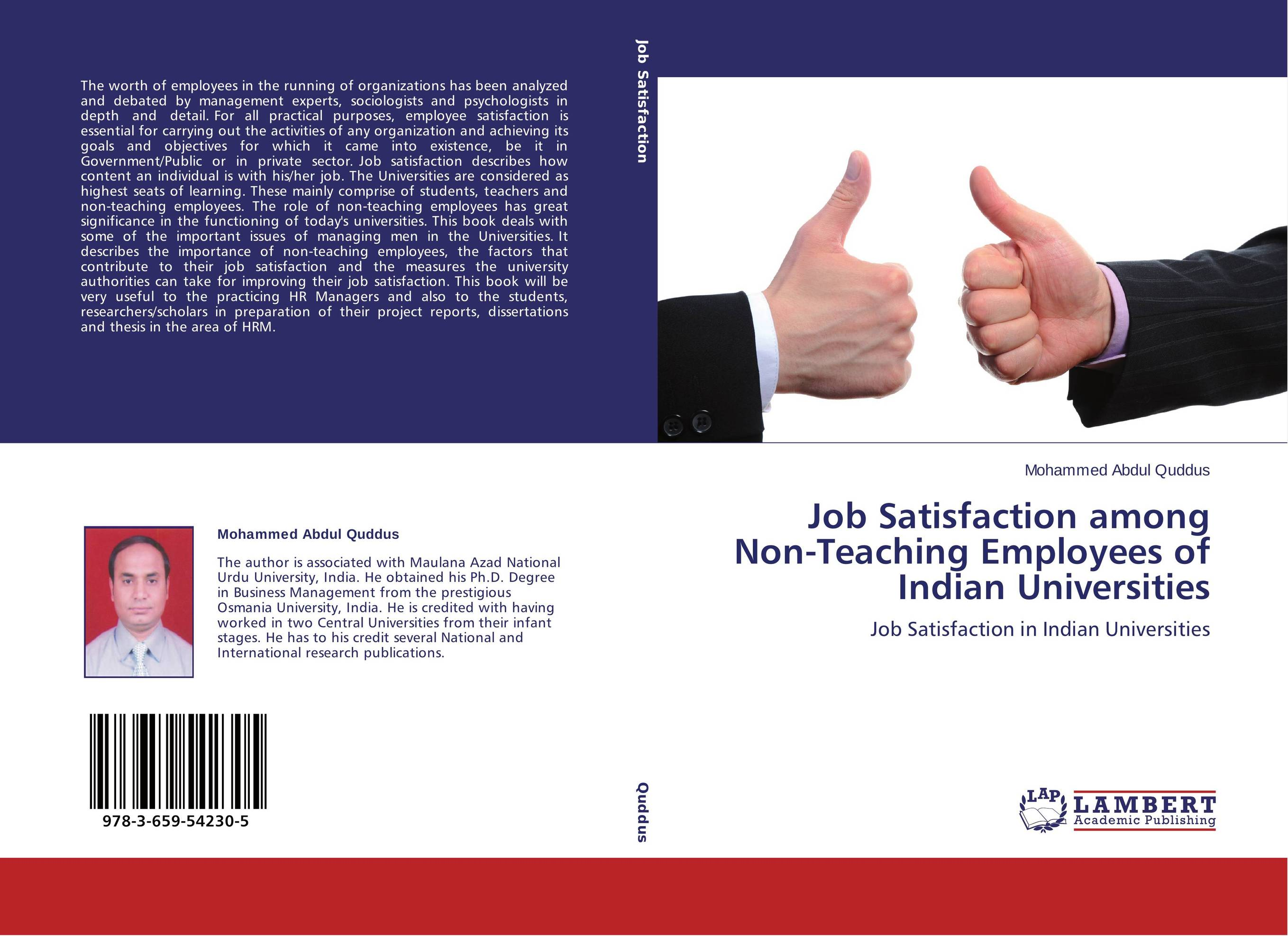 job satisfaction levels of non managerial employees Job satisfaction is the collection of feeling and beliefs that people have about their current job people's levels of degrees of job satisfaction can range from extreme satisfaction to extreme dissatisfaction.