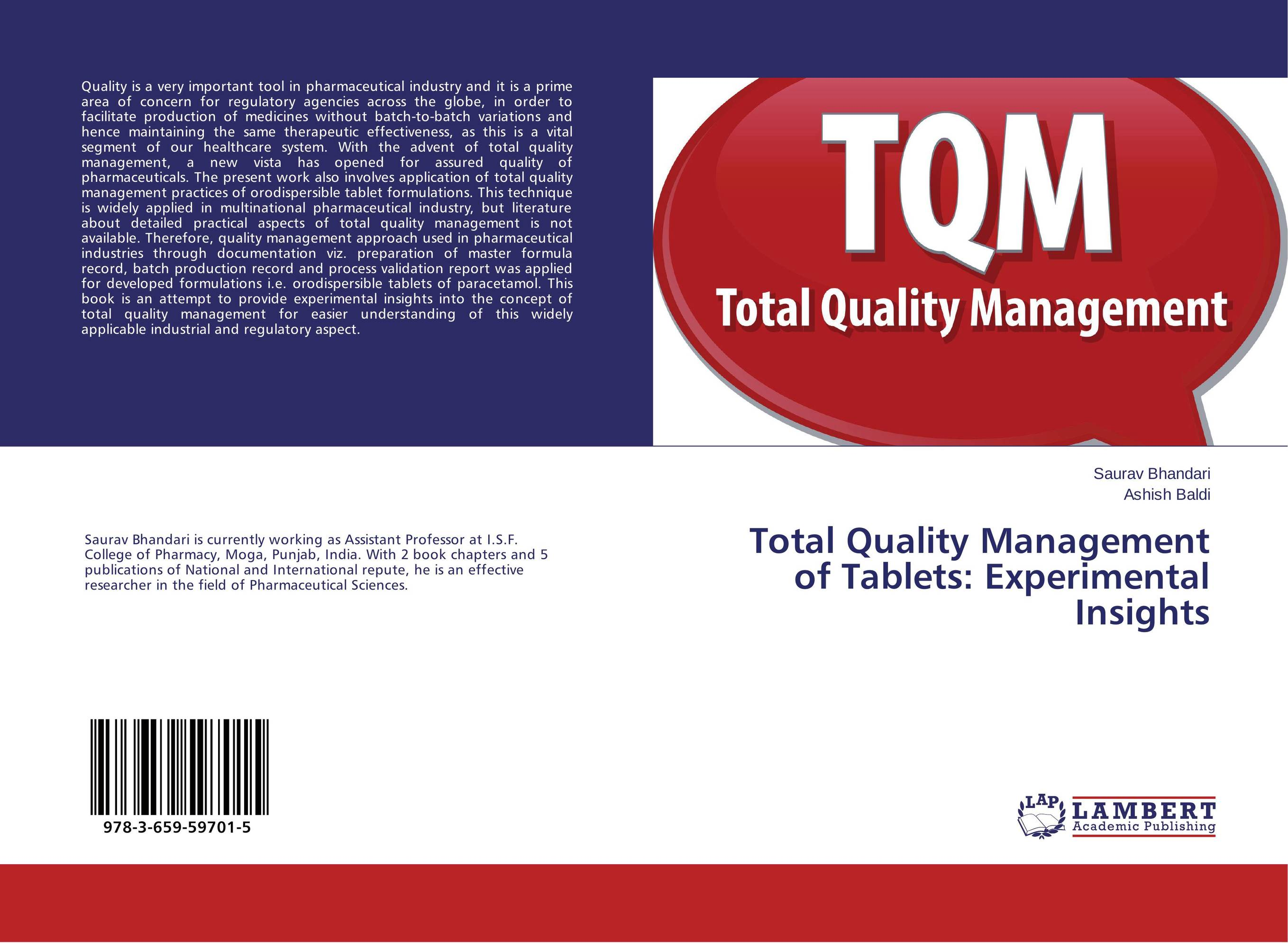 total quality management at dominos india A case study of amul co-operative in india in relation to organizational design and operational efficiency 312 quality management.