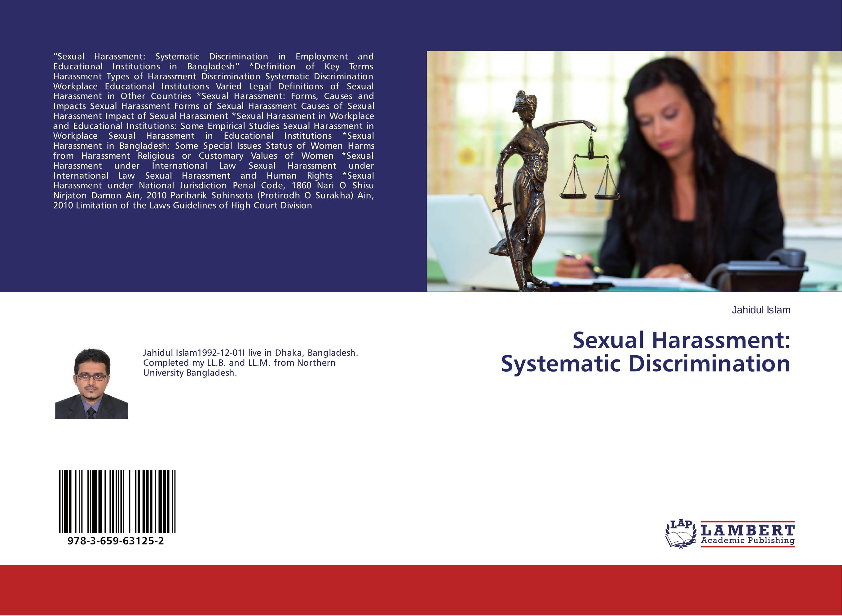 a look at the problem of sexual harassment and discrimination in america Sexual harassment is a growing problem in the government agencies, schools, and the corporations of the world however, many corporations are now adopting new anti-harassment policies(conta) the definition of sexual harassment is any unwanted or inappropriate sexual attention.
