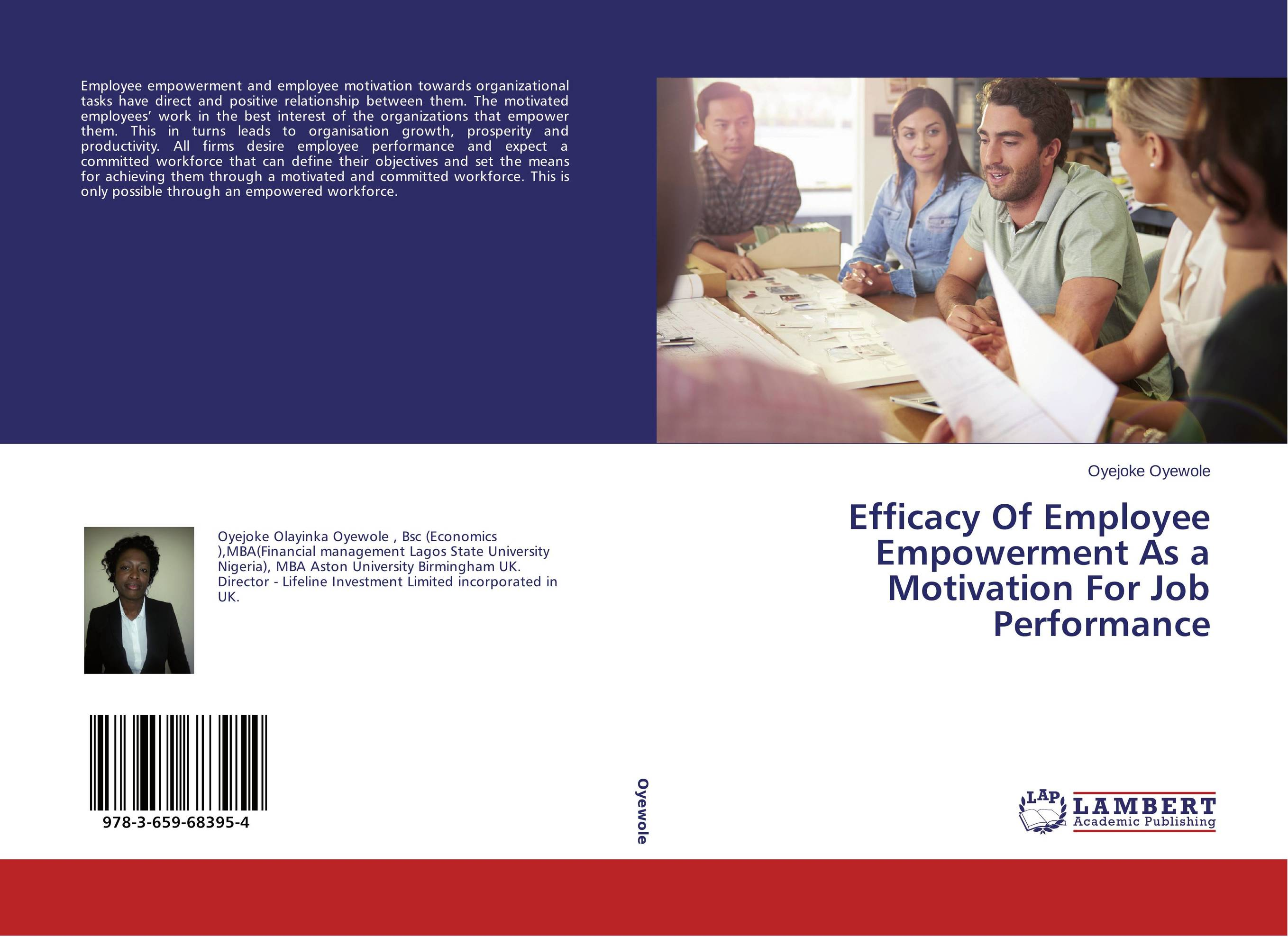 effectiveness of employee empowerment 1 measuring empowerment in practice: structuring analysis and framing indicators ruth alsop nina heinsohn world bank policy research working paper 3510, february 2005.