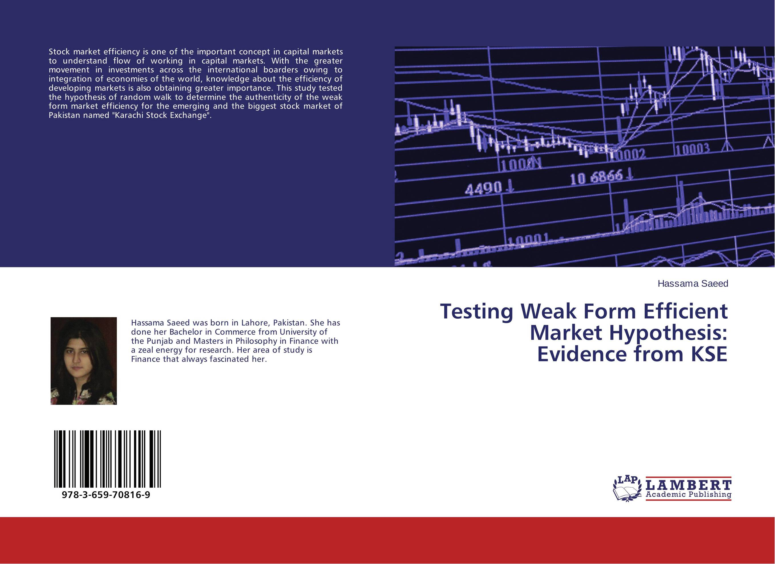 the weak form efficiency of the gcc The purpose of the paper is to test the weak-form market efficiency in saudi arabia's stock market, tadawul, which is expected to follow a random walk all shar.