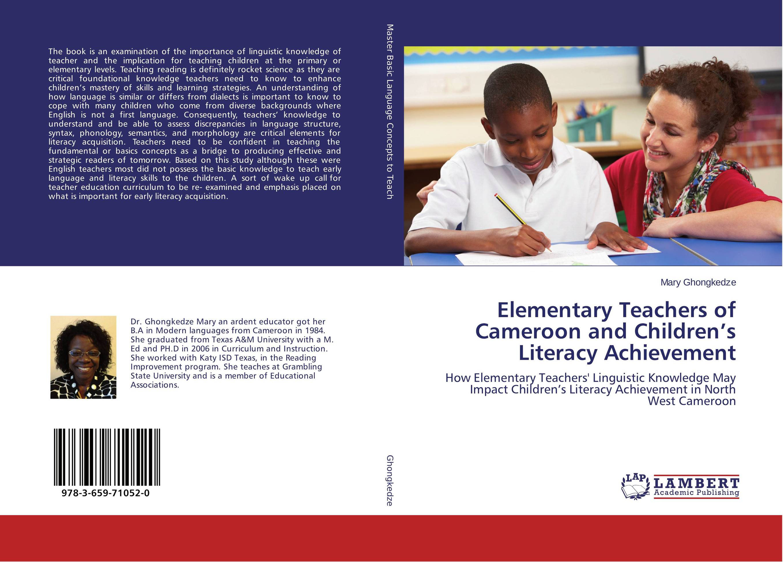 linguistics for elementary teachers essay Most teachers in elementary schools work with one class of children and teach several subjects sometimes, two or more teachers collaborate to cover all necessary subjects of a class there can be other cases when a teacher teaches only one subject (music or art, etc) to different classes.