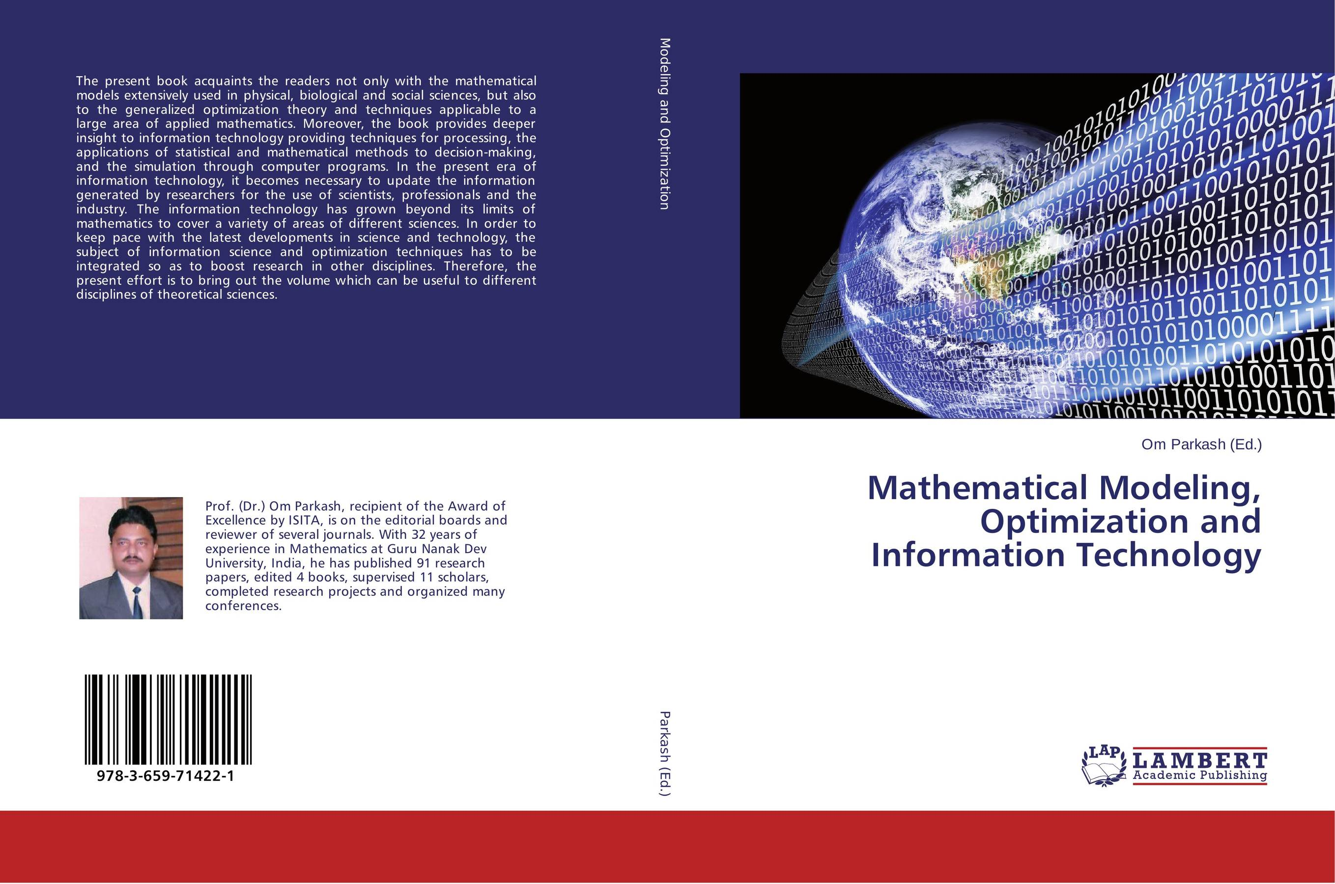 9783659714221 Mathematical Modeling, Optimization and Information Technology O