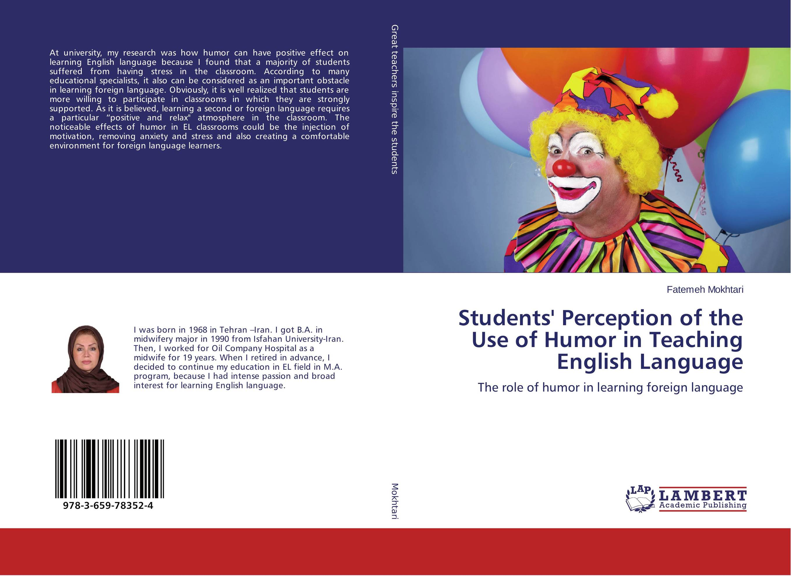 students perception towards english language Motivation and student perception of studying in an english 'asian student attitude towards english' in journal of language and linguistic studies.