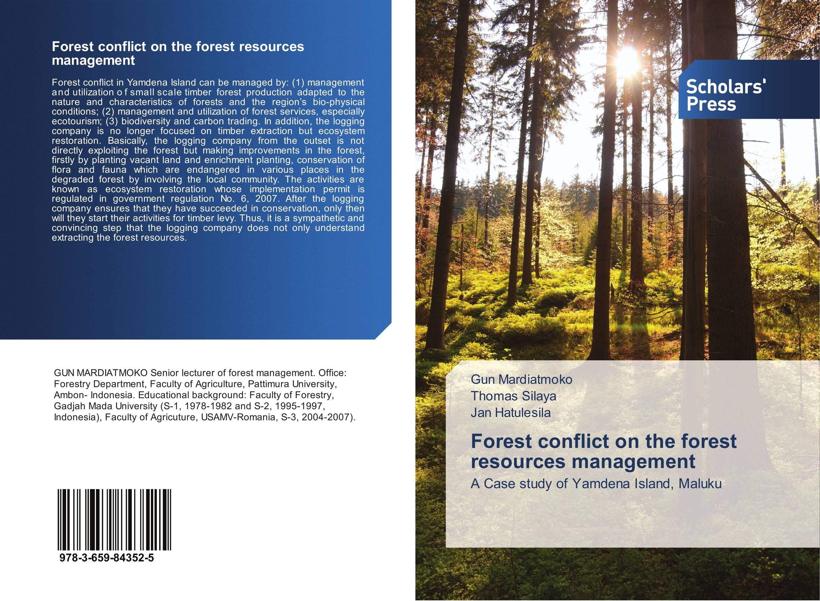 management of forest resources The practice of forest management forest management is an integral part of the forest resources research and education center program an understanding of forest.