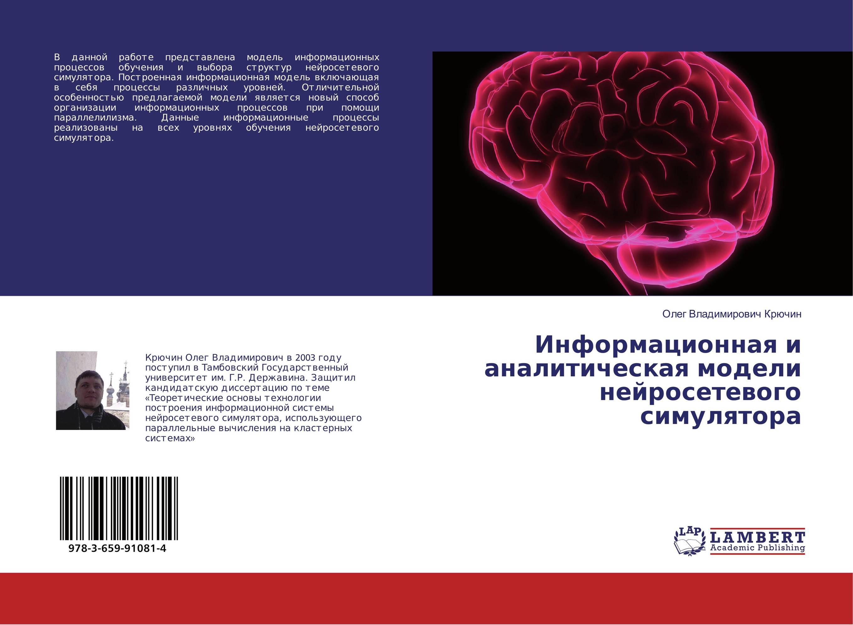 Информационная и аналитическая модели нейросетевого симулятора..