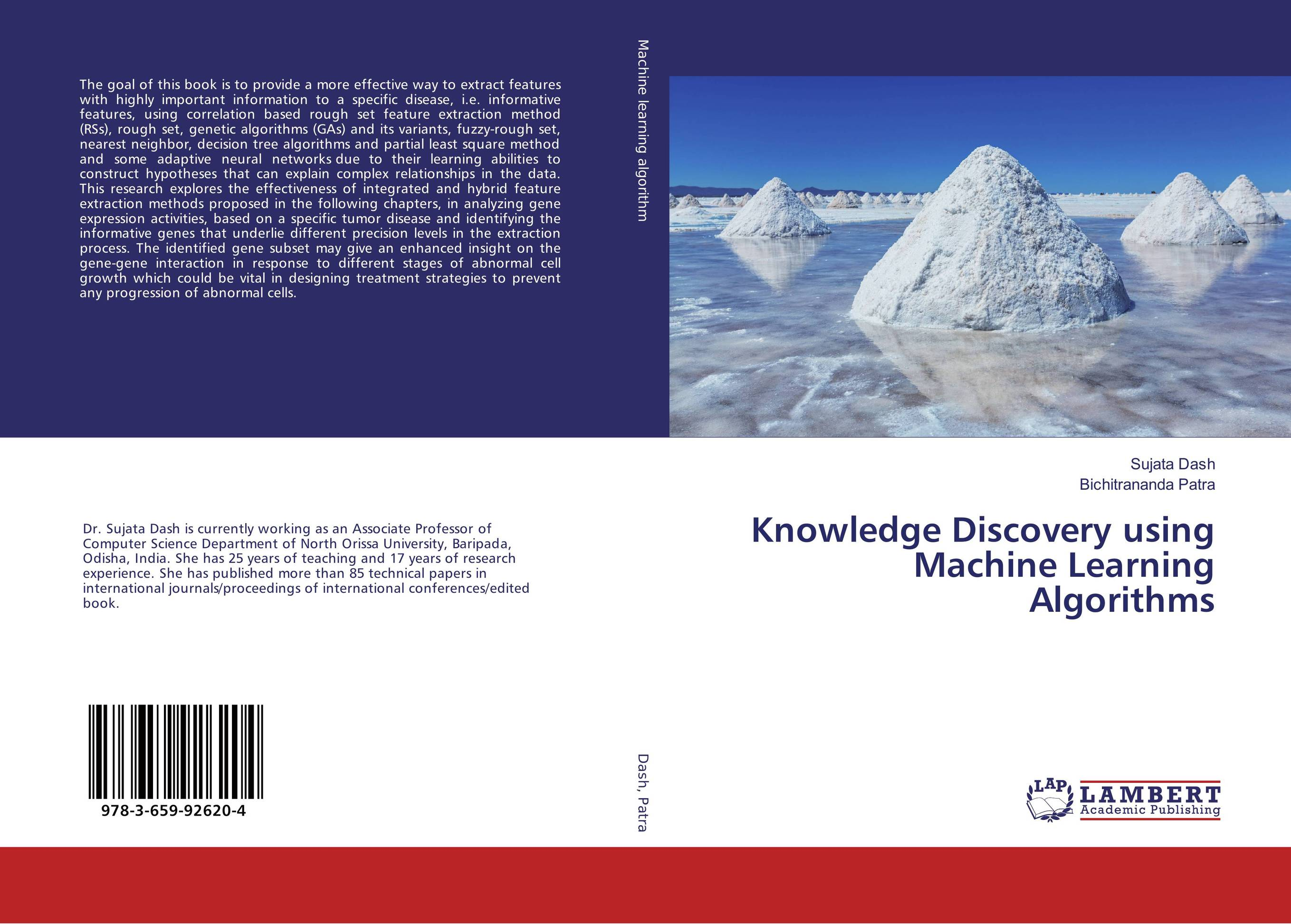 9783659926204 Knowledge Discovery using Machine Learning Algorithms Sujata Das