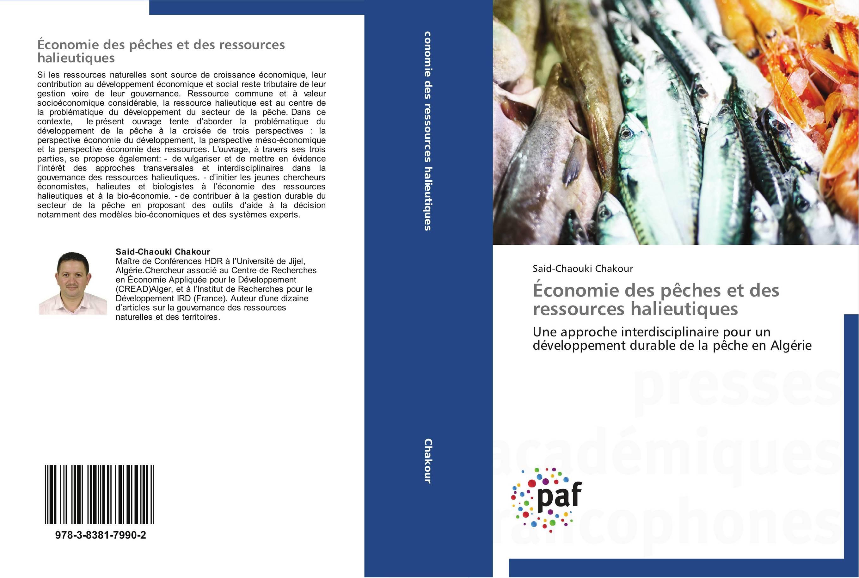 9783838179902 Économie des pêches et des ressources halieutiques - Said-Chaouki