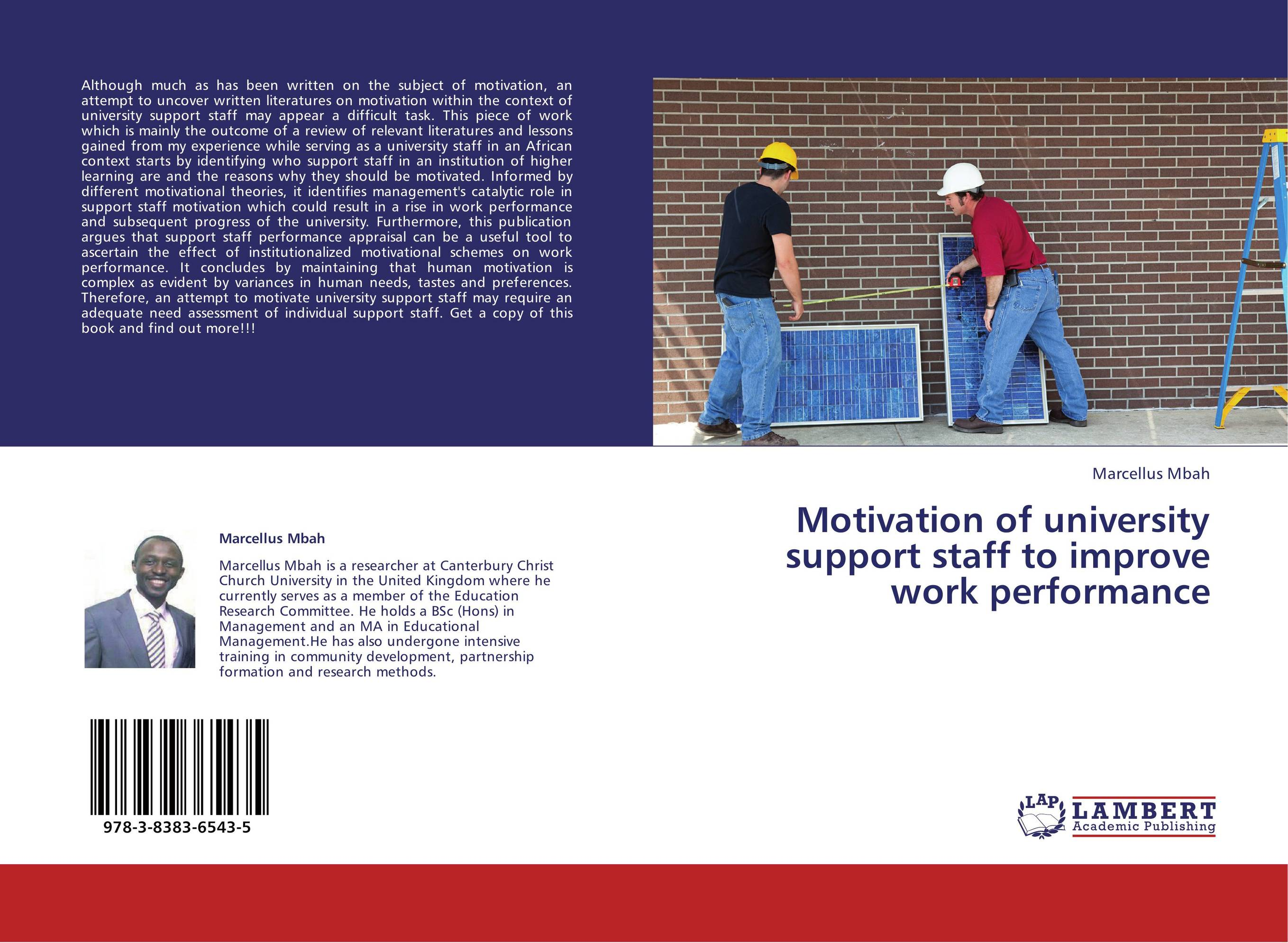 improving work performance and motivation through job design management essay Hence,job design aims to improve the performance and motivation of employee in an organizationanalysis of job design begins with proper viewing at job with broad perspective and moves towards identifying specific activities required to do the job with.