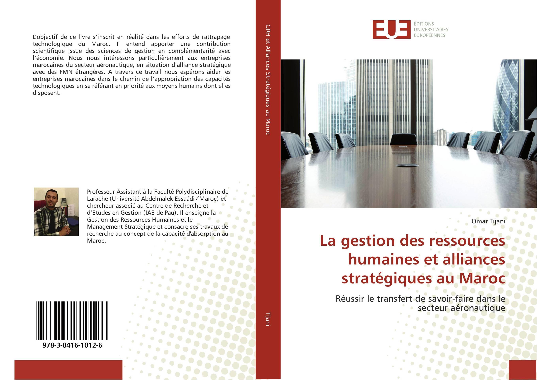 9783841610126 La gestion des ressources humaines et alliances st...ques au Maroc
