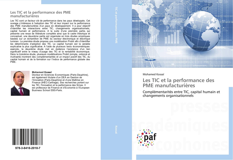 9783841620187 Les TIC et la performance des PME manufacturières - Mohamed Kossaï