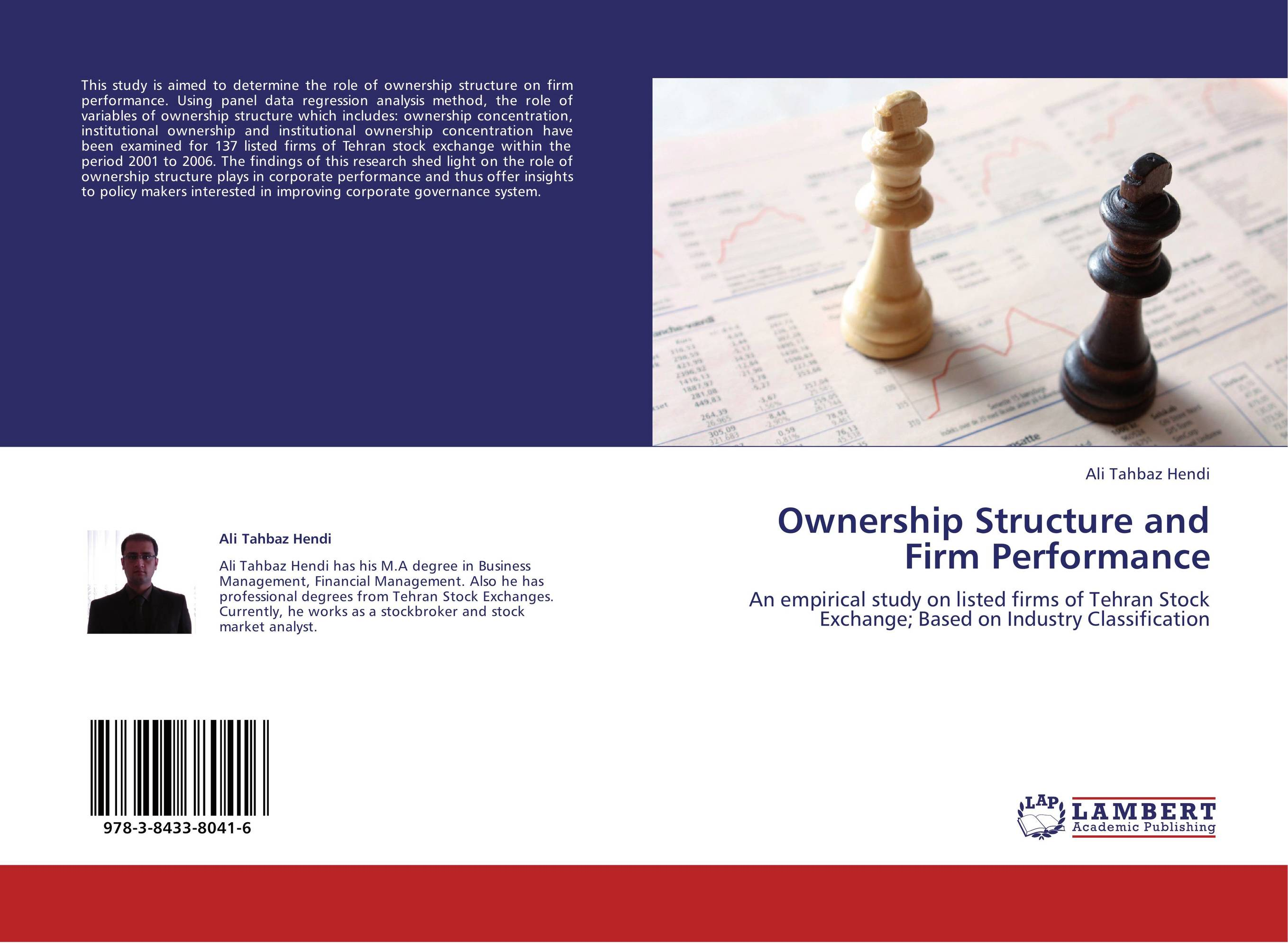corporate ownership structure and corporate performance essay Below is an essay on corporate governance, dividends and ownership structure in valuing indian firms from anti essays, your source for research abstract: this research aims to show the empirical evidence of the role of corporate governance, ownership structure and dividends while valuing a.