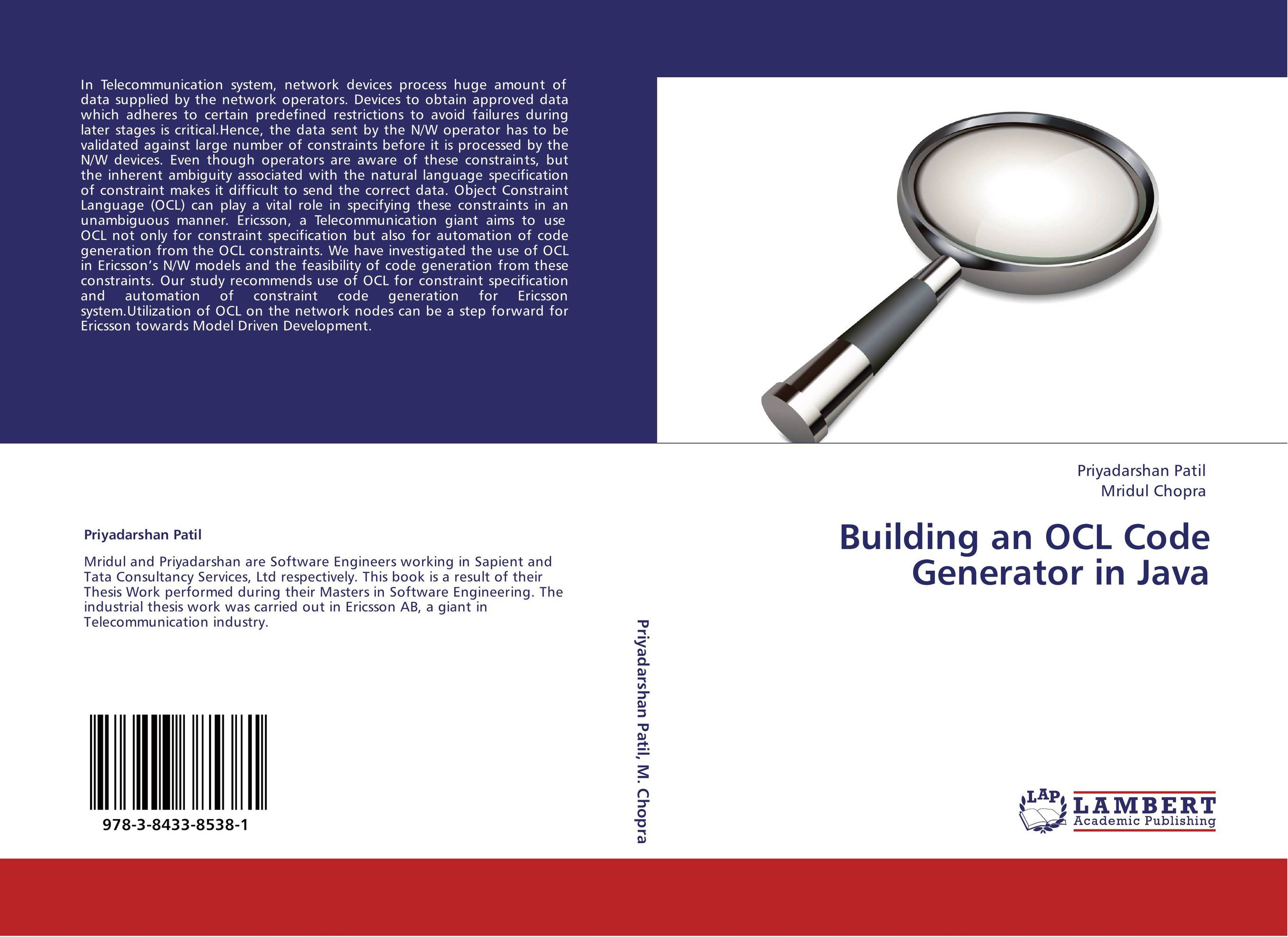 thesis code generator Thesis and code provides assistance for implementing the problems specifically from the domain of computer science and information technology using different software such as matlab, ns2, java/j2ee and simulink.