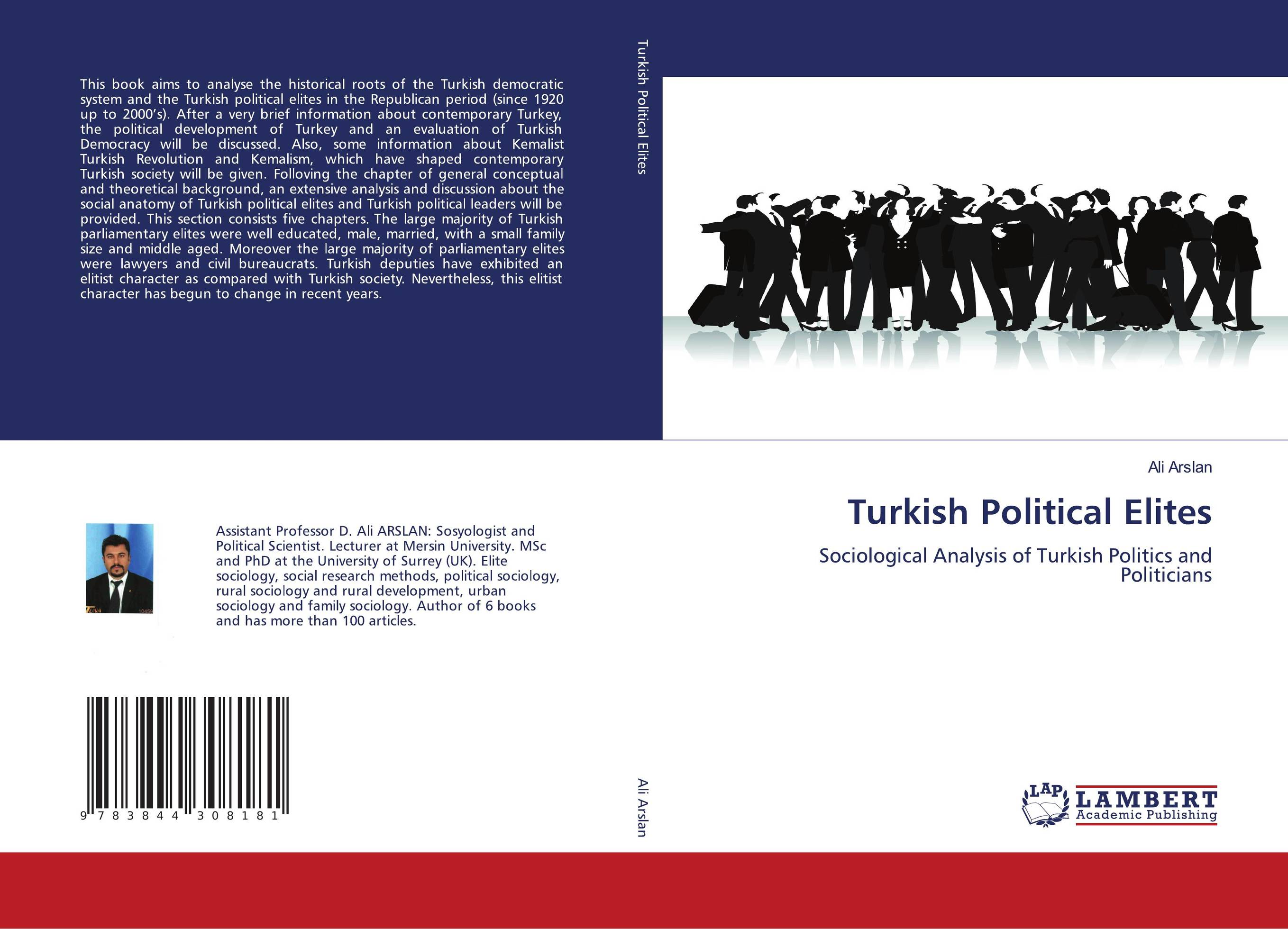 9783844308181 Turkish Political Elites ALI ARSLAN