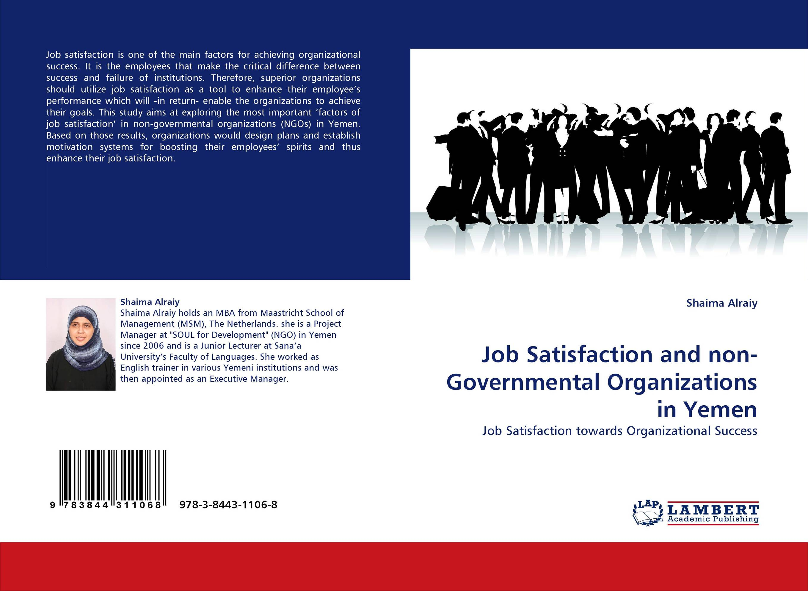 the difference between job satisfaction and organizational Lund believed that less research was done on the relationship between organizational culture and job satisfaction within the research topic of organizational culture and outcome the organization consists of the staff, with the behavior of its individual members affecting outcomes.
