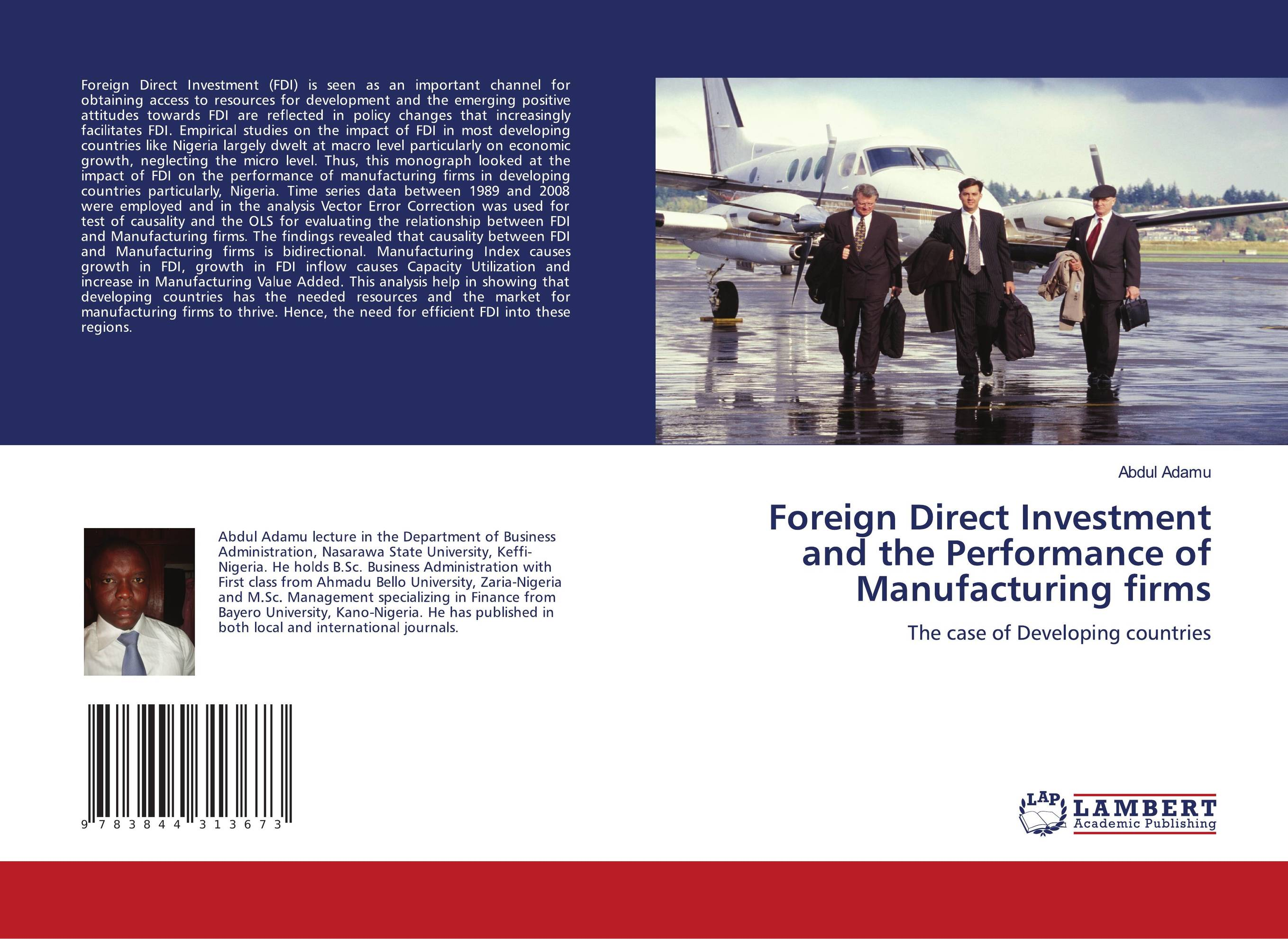 impact of corruption on fdi Collection the impact of corruption on fdi: the case of post-socialist europe by stefan domonkos submitted to central european university department of political science.