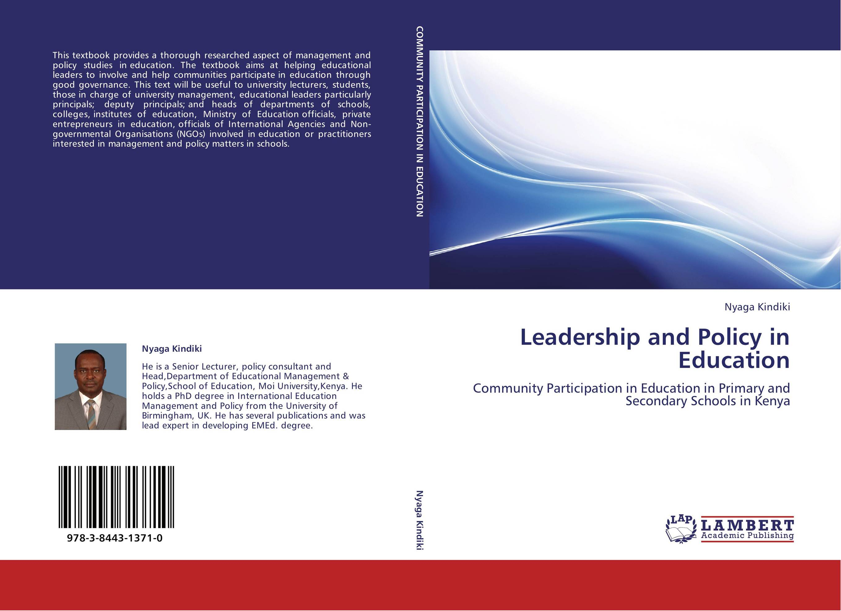 leadership capacity in education study Qualitative study • case study schools:  tion among staff and to advance the leadership capacity of the school around shared goals  journal of education, 123.