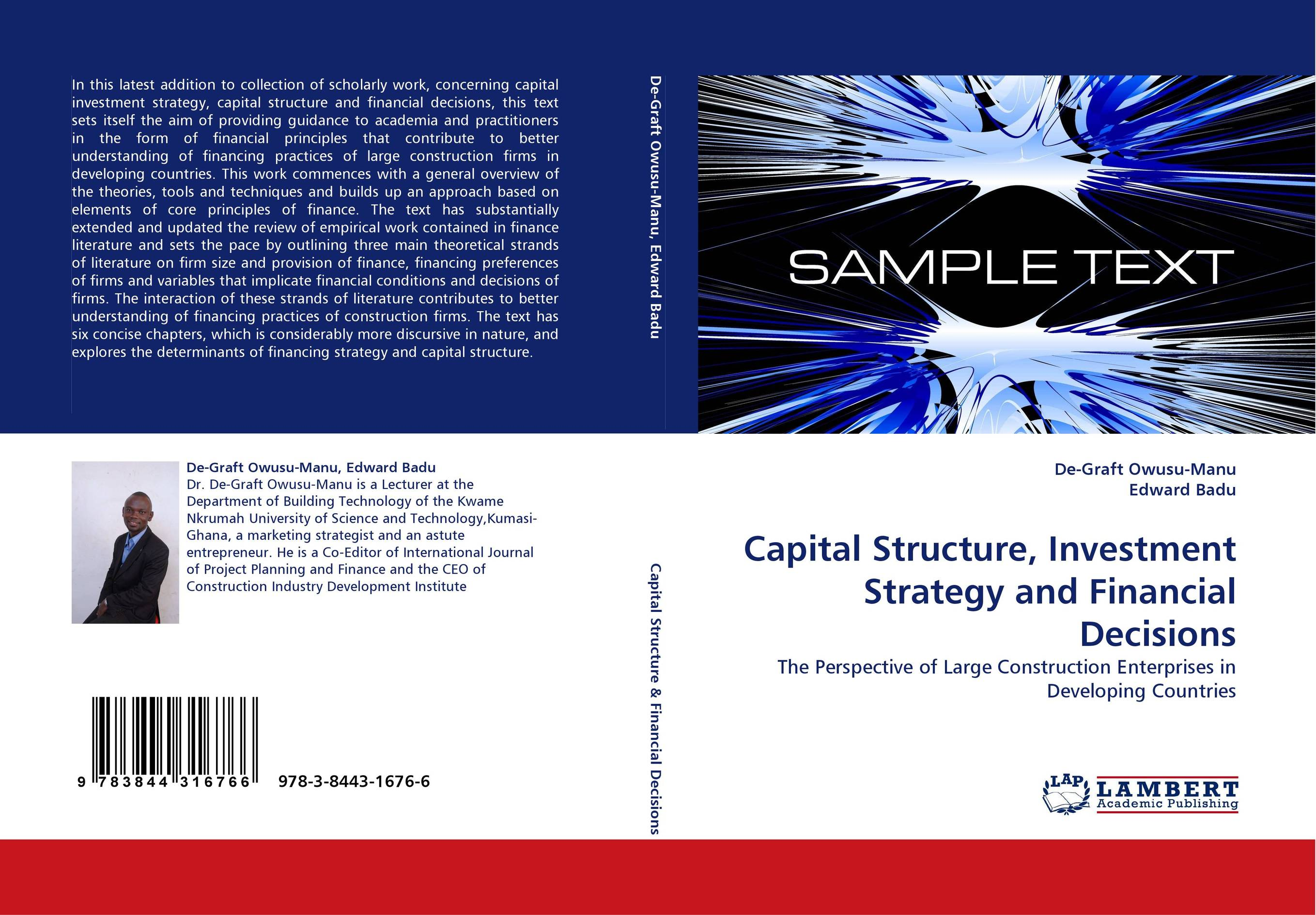 the theories and implications on corporate financial decisions finance essay Yet, finance is somewhat unique in terms of the correspondence between theory and evidence students should be driven to appreciate the significance of the theory's implications in the real if the potential contribution of financial decision theory is largely indirect, as fama and miller (1972.