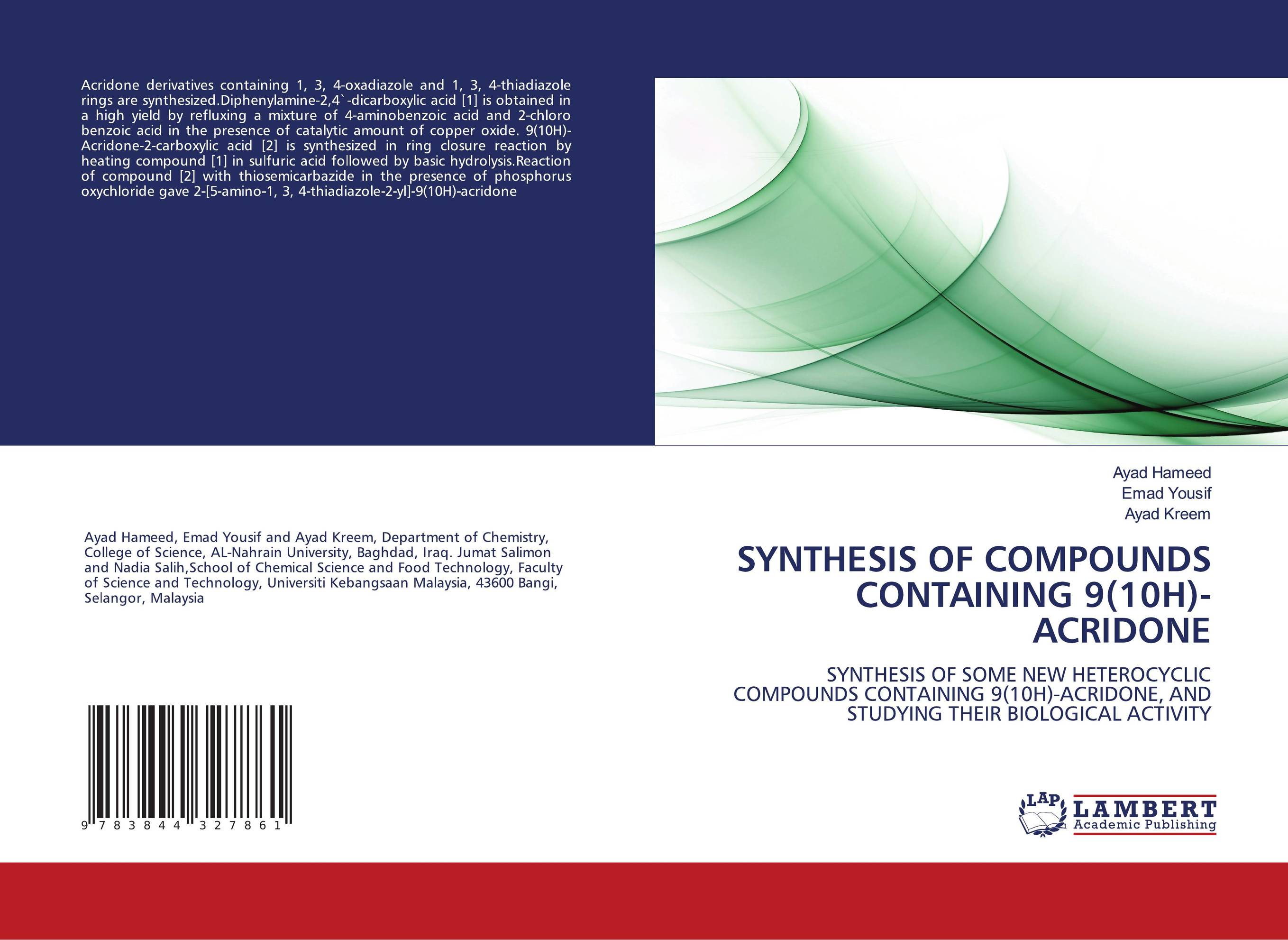 synthesis of copper compounds In addition, we have described the synthesis, characterization and single crystal x-ray crystal structure of this ligand and its cu(ii) and pt(ii) compounds (1 and 2, respectively) experimental materials and measurements.