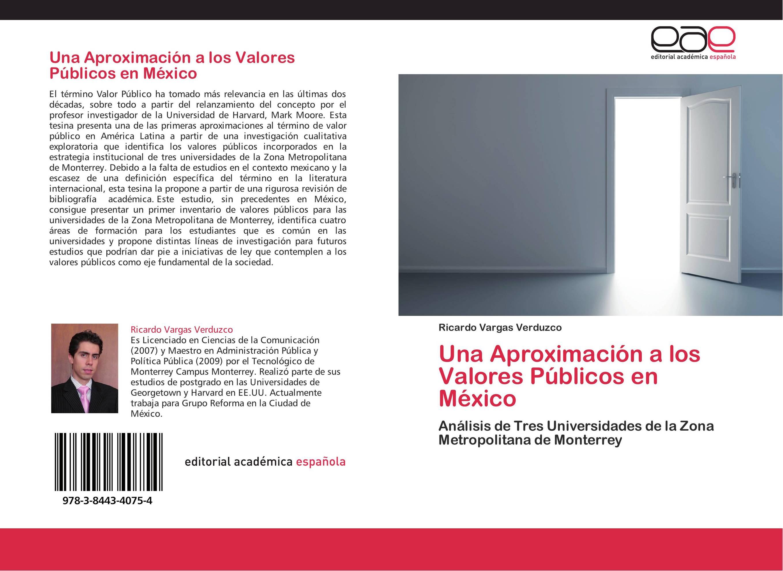 Una Aproximación a los Valores Públicos en México