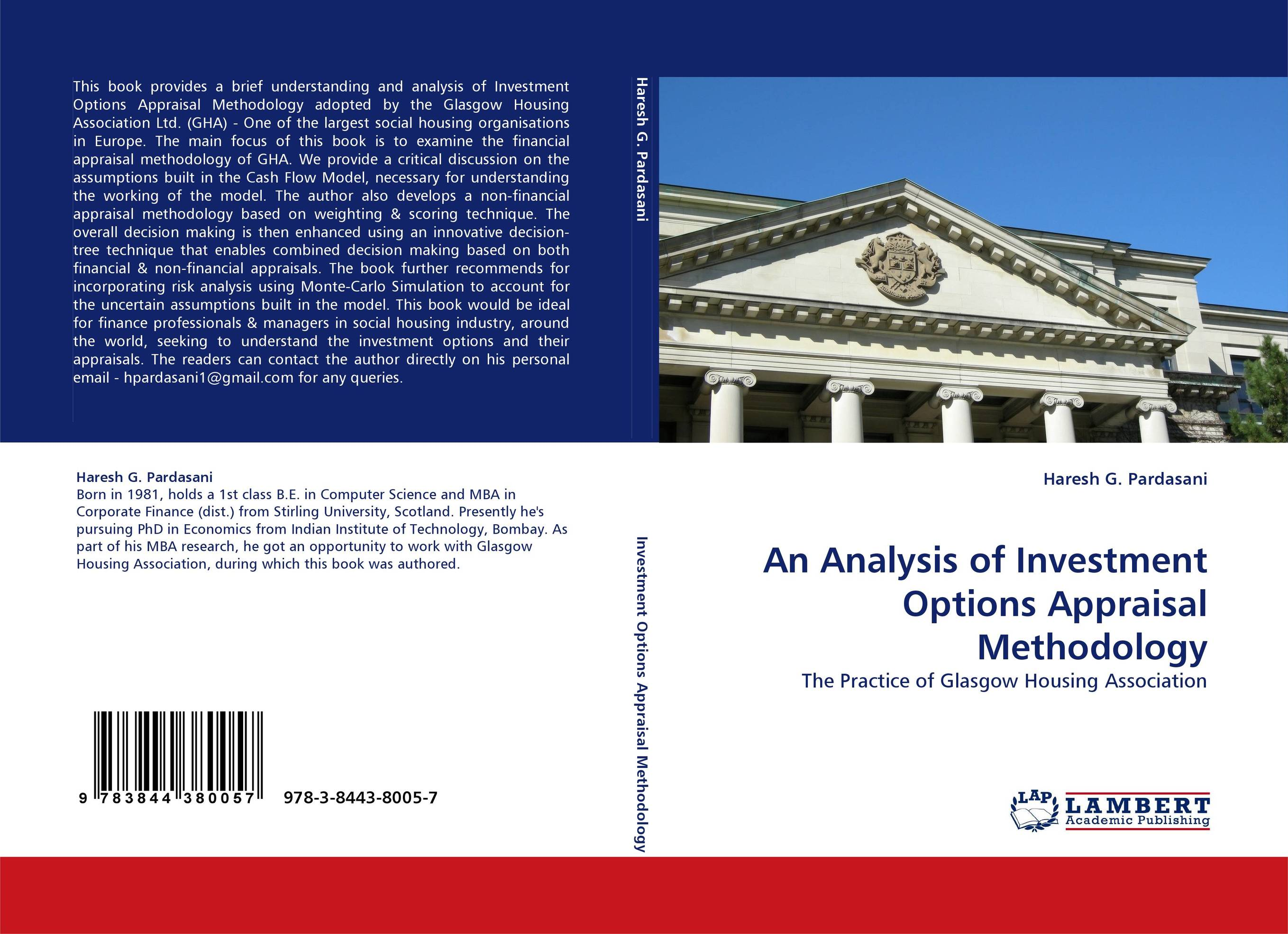 an analysis of the necessary investments for the future Conservation return on investment analysis a review of  conservation investments are increasingly evaluated on the basis  not necessary to demonstrate a.