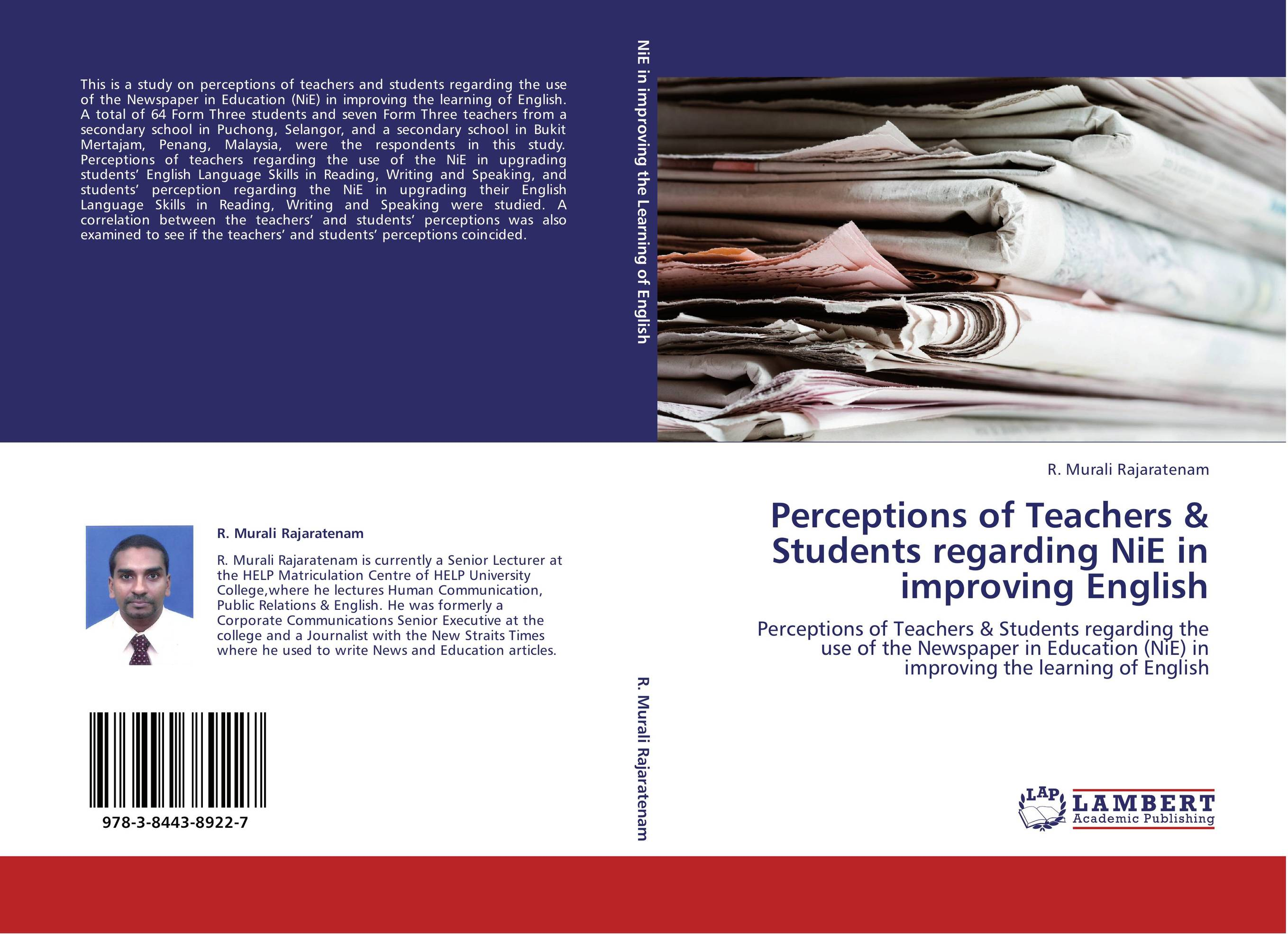 students perception toward the learning of ict education essay Students' perception towards english language this study also intended to find out the changes in their perception toward english language and also toward english for.