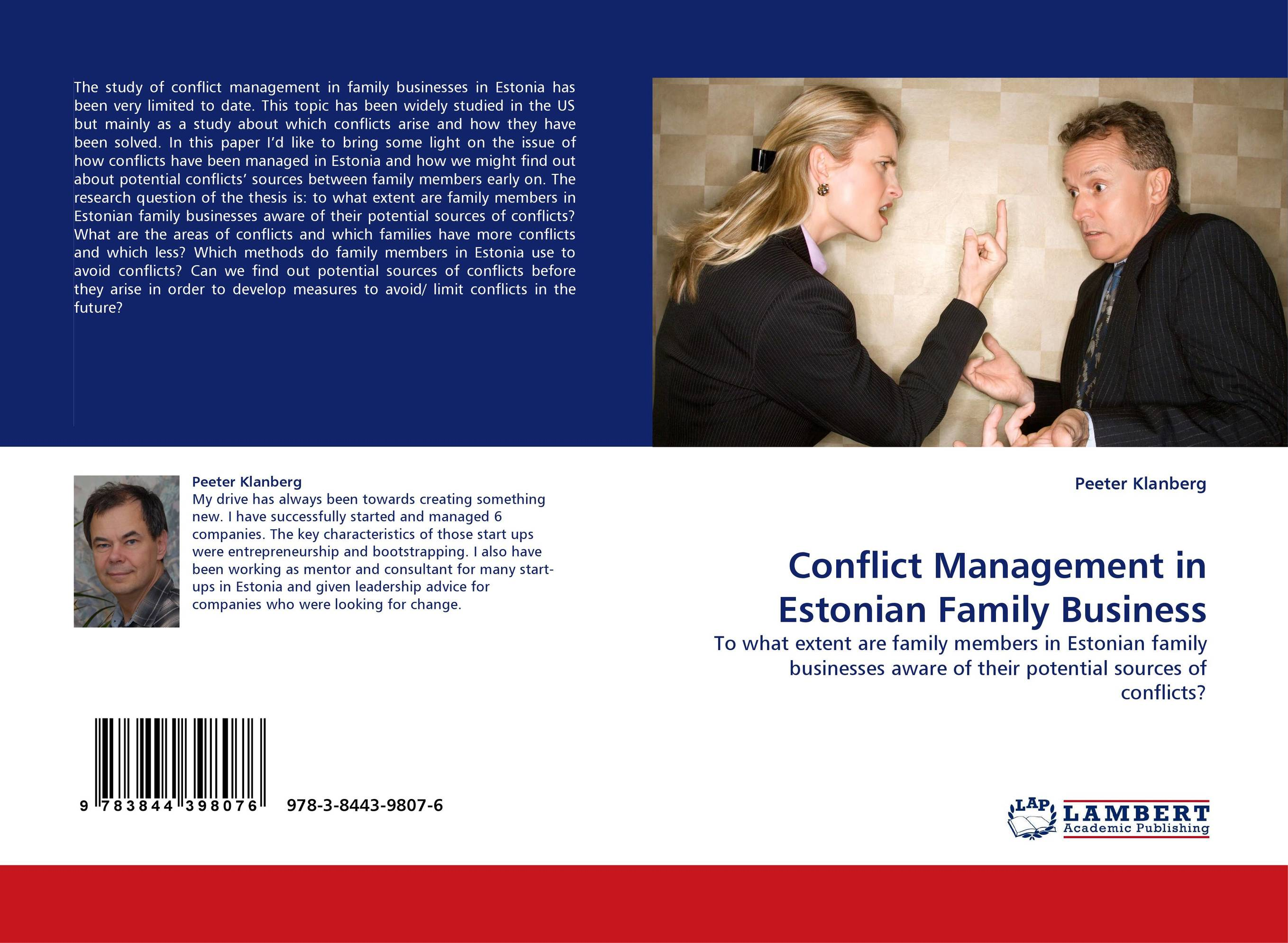 thesis on conflict management Conflict management and conflict resolution conflict management and resolution through site-based management school-based management (sbm), or decentralized management, is fast growing in popularity in many of the us school districts as this is seen as an efficient way to resolve and manage conflicts.