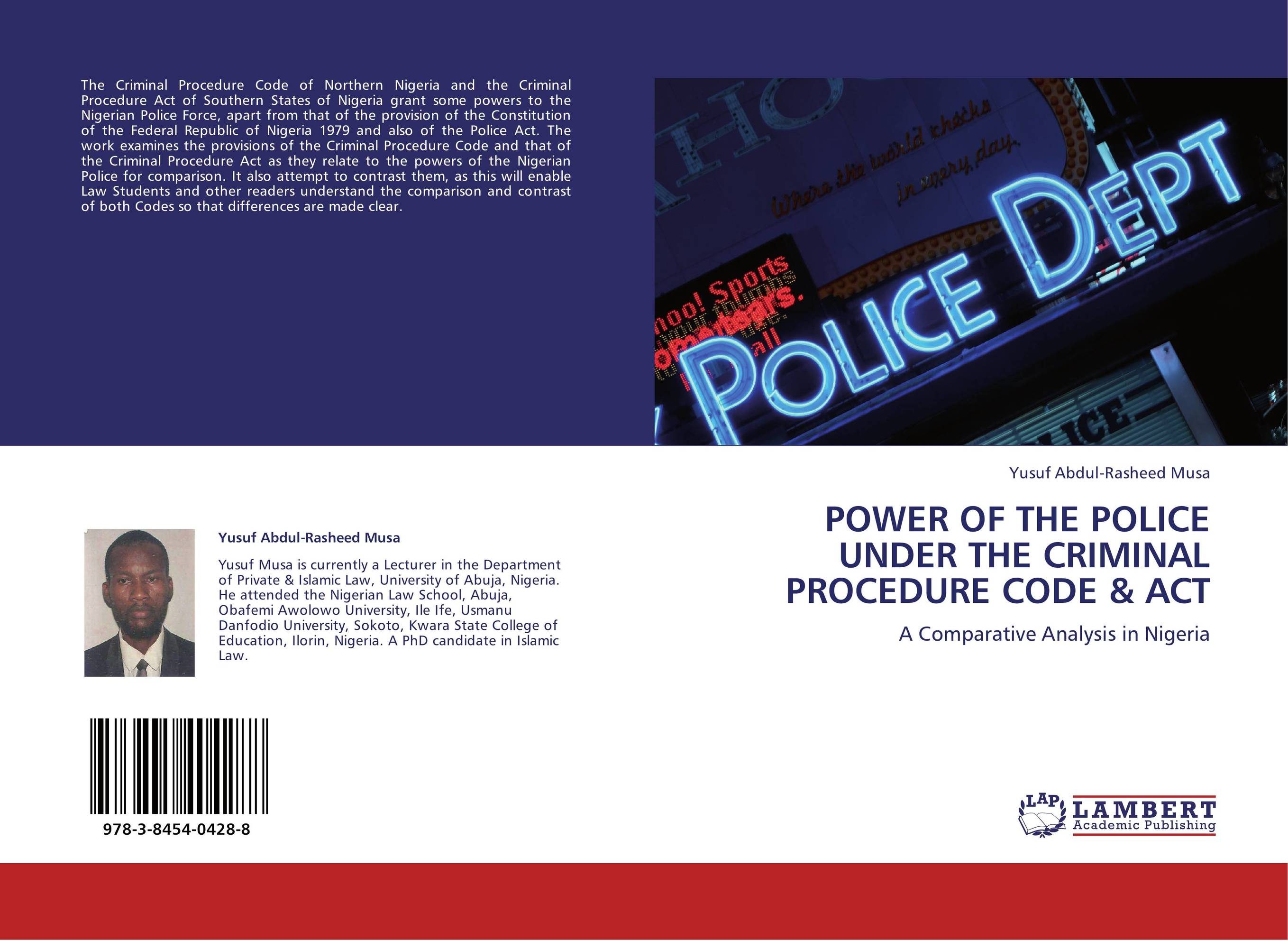analysis of provisions related to police powers To summarize, on an analysis of the various provisions of chapter v, vii and most importantly chapter xii of the crpc with regard to the question whether the powers exercised by the police in consonance with the provisions of the crpc are discretionary in nature, the researcher concludes as follows.