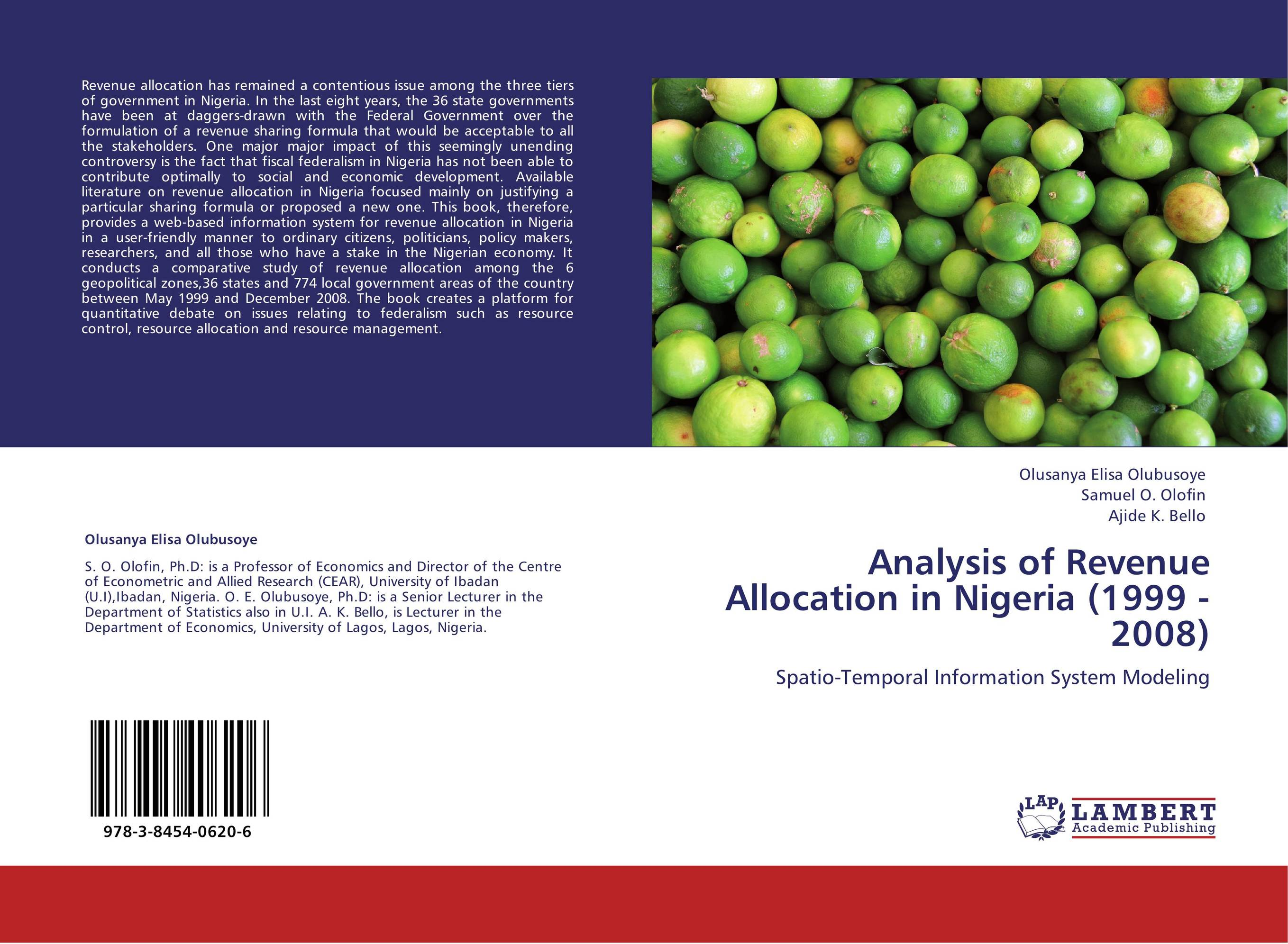 problem confronting nigeria revenue allocation Federalism and ethnic conflict in nigeria about the budget and revenue allocation, the mode of sharing nigeria's confronting arguments for and.