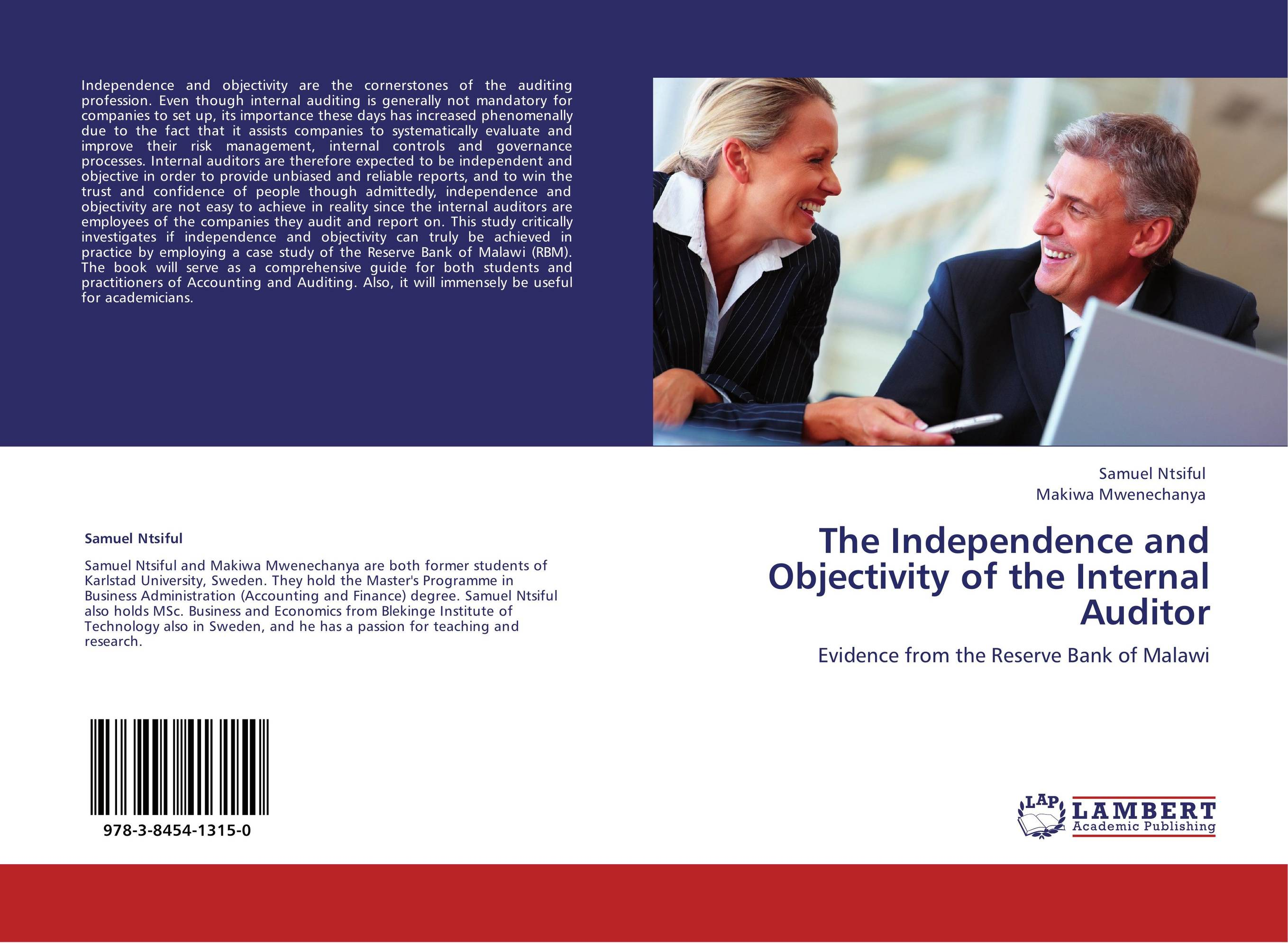 objectivity vs independence If independence or objectivity is impaired in fact or appearance, the details of the impairment must be disclosed to appropriate parties.