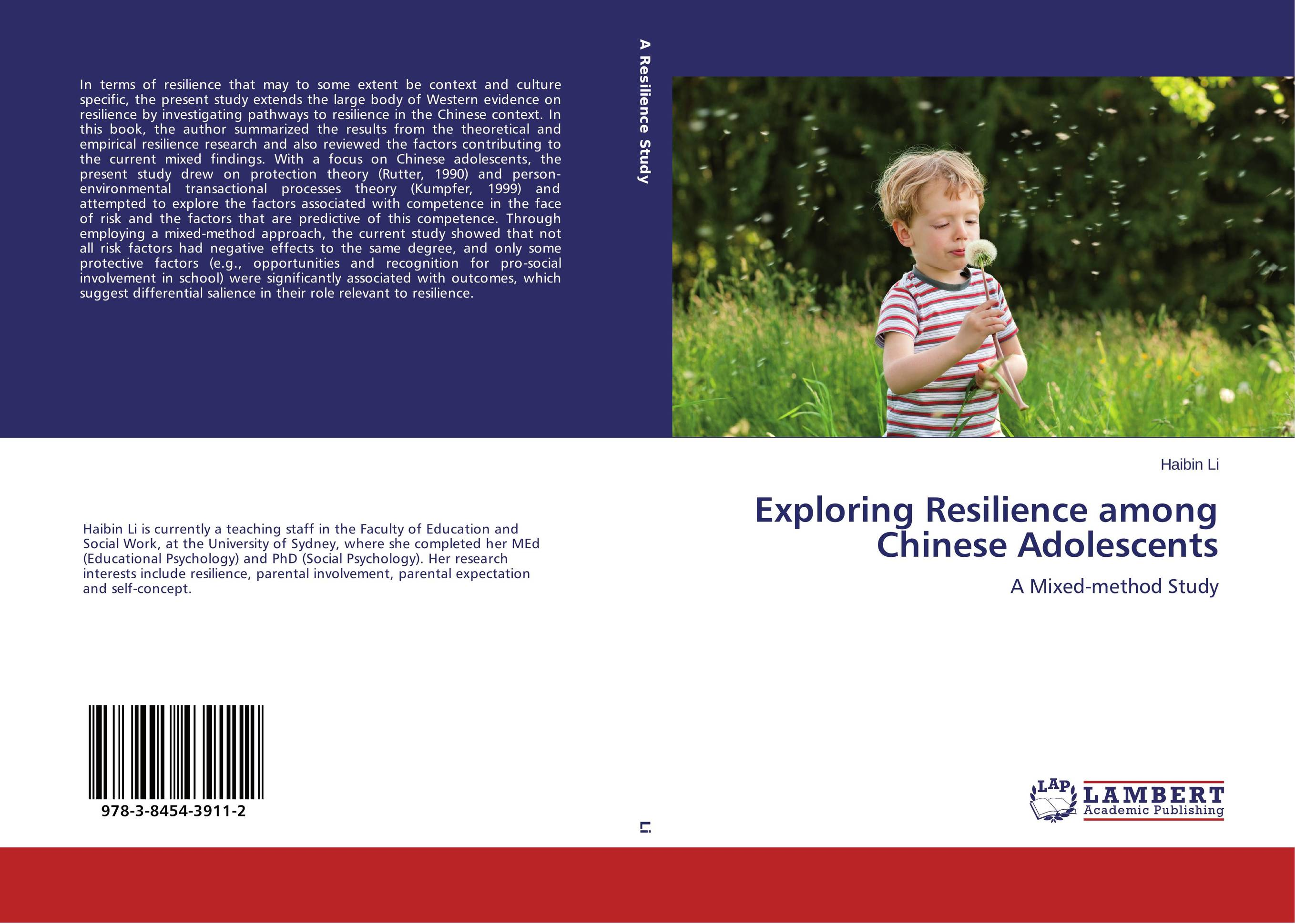 findings chapter on resilience research Chapter 6: data analysis and interpretation 354  the research design and methods in chapter five represented the rationale for  is to produce findings,.