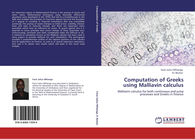 MALLIAVIN CALCULUS EPUB