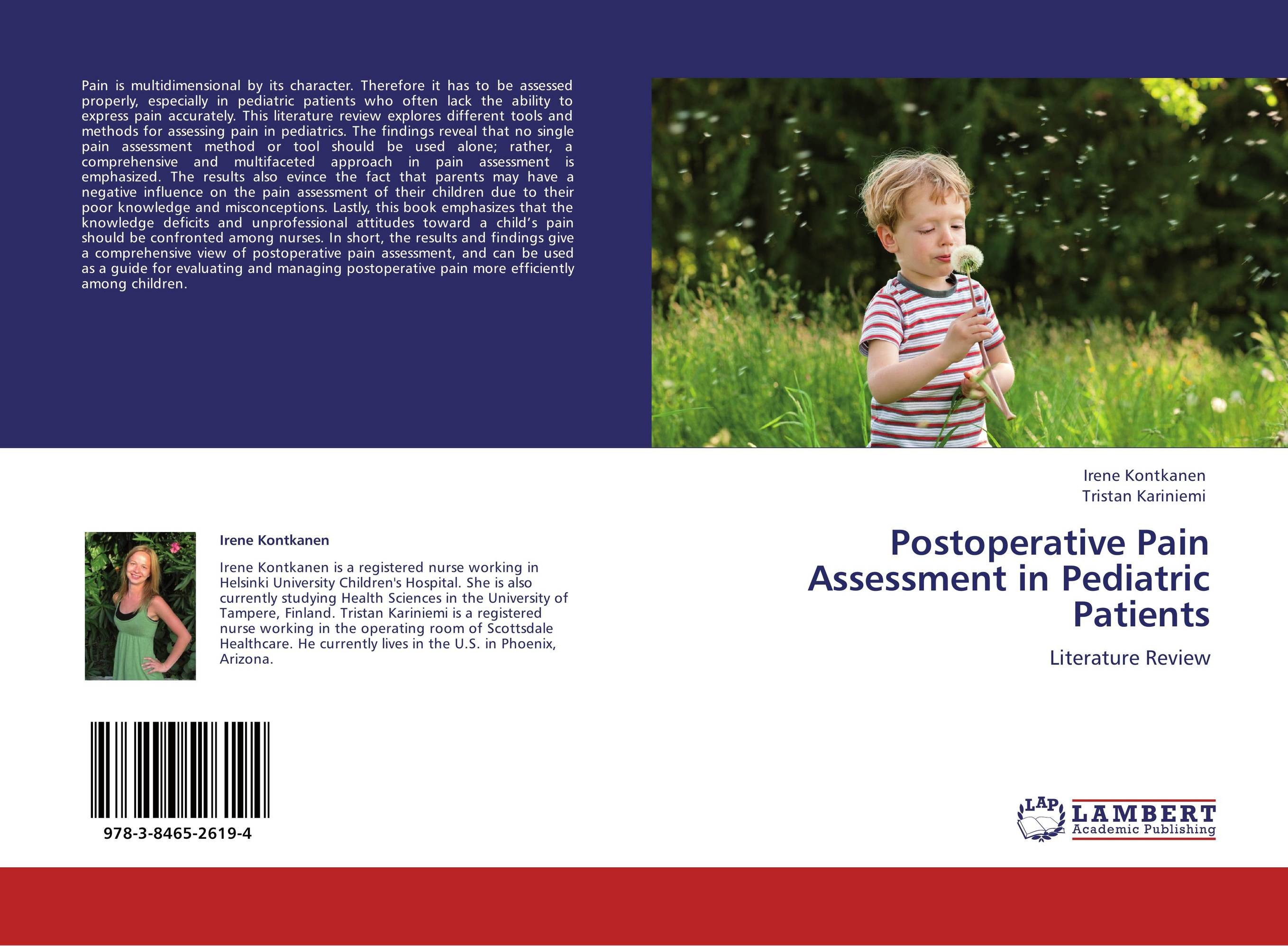 an analysis of the pain assessment in young children Knee pain is a common presenting complaint with many possible causes an awareness of certain patterns can help the family physician identify the underlying cause more efficiently.